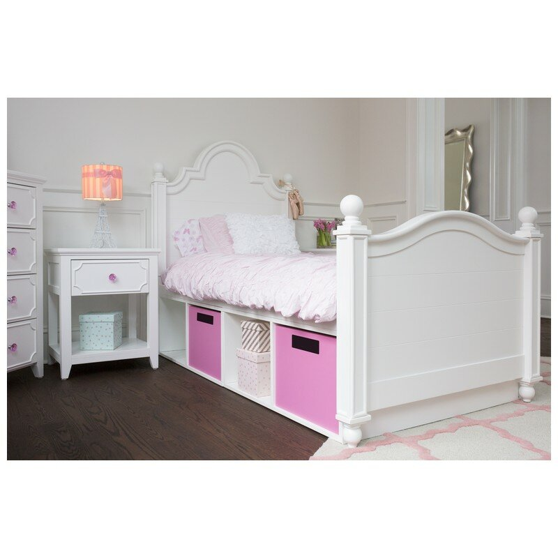Sydney twin panel bed with storage wayfair for Kids craft bed