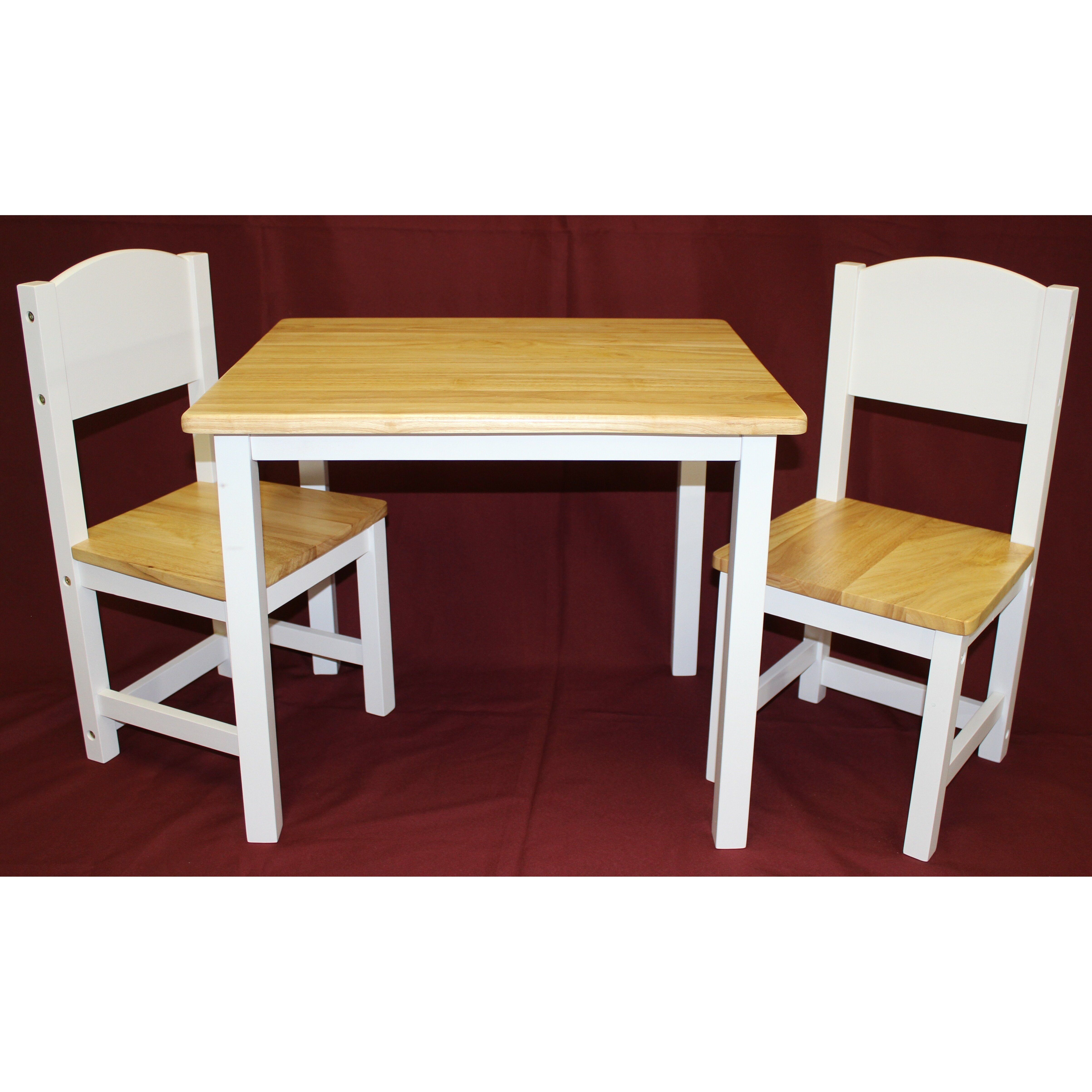 eHemco Kids 3 Piece Table and Chair Set & Reviews