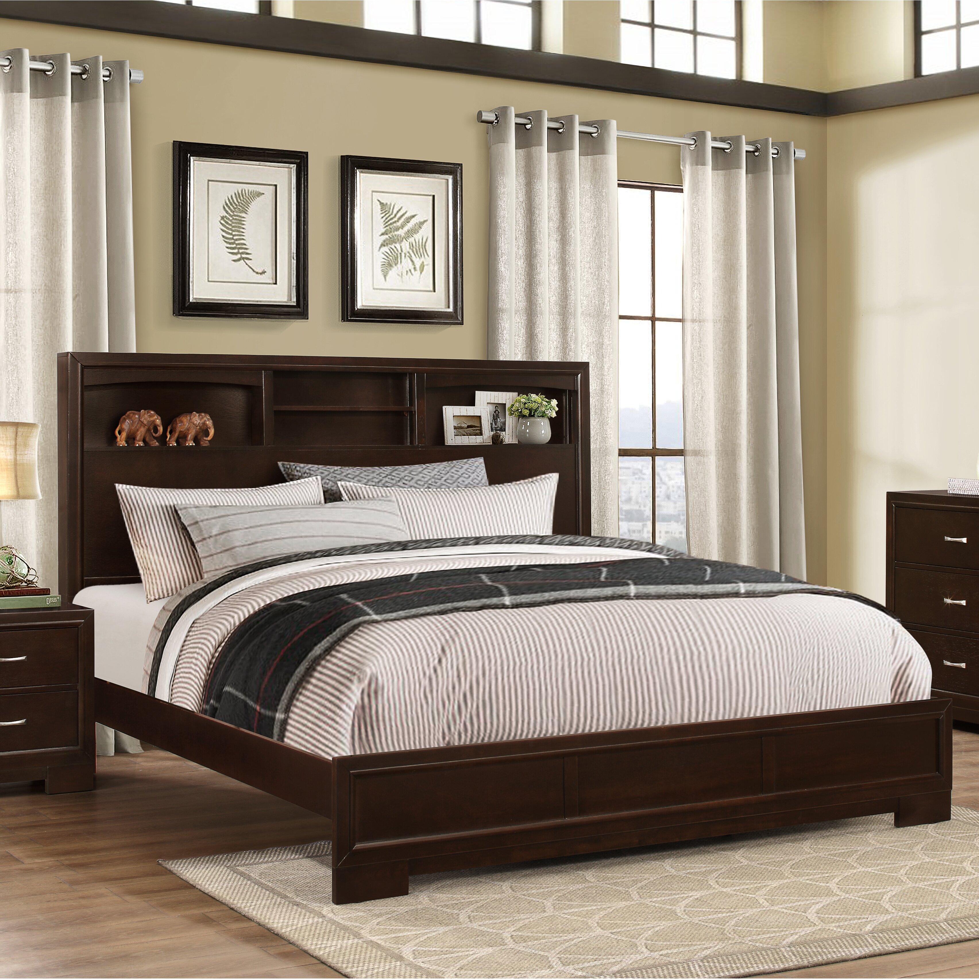 furniture montana panel 4 piece bedroom set reviews wayfair