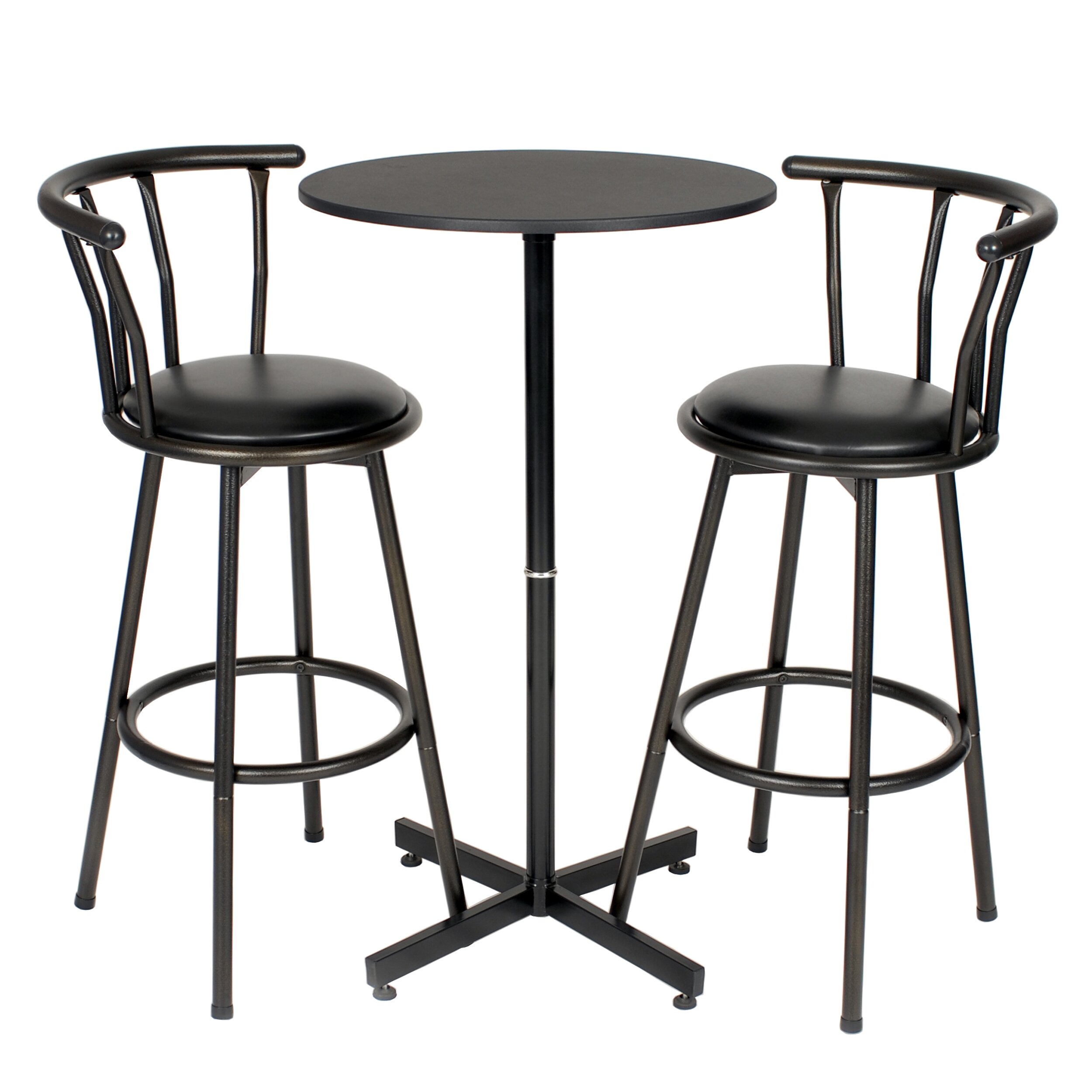 furniture bar furniture round pub tables bistro sets roundhill