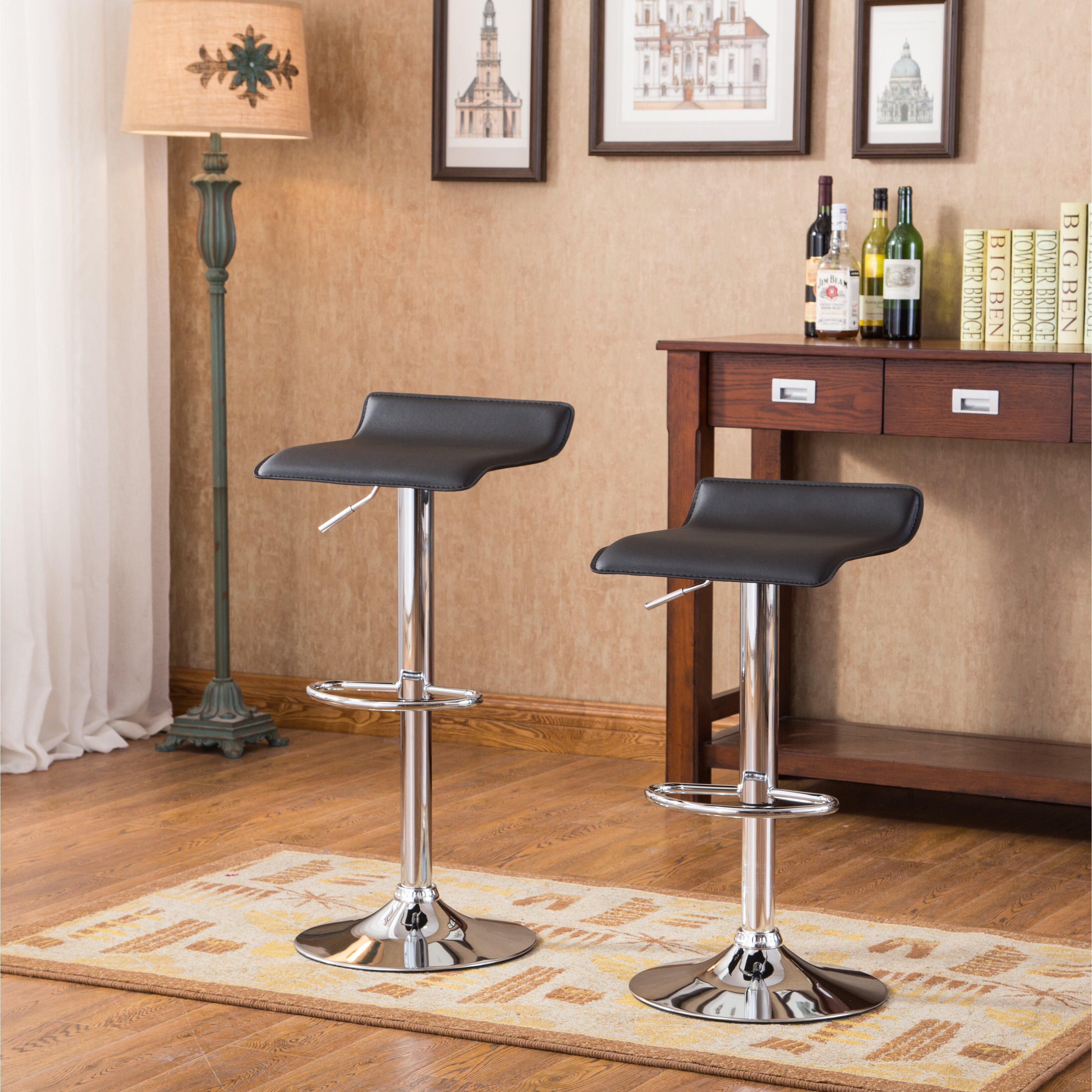 Enjoyable Roundhill Furniture Bar Stools 51 Off Roundhill Furniture Theyellowbook Wood Chair Design Ideas Theyellowbookinfo