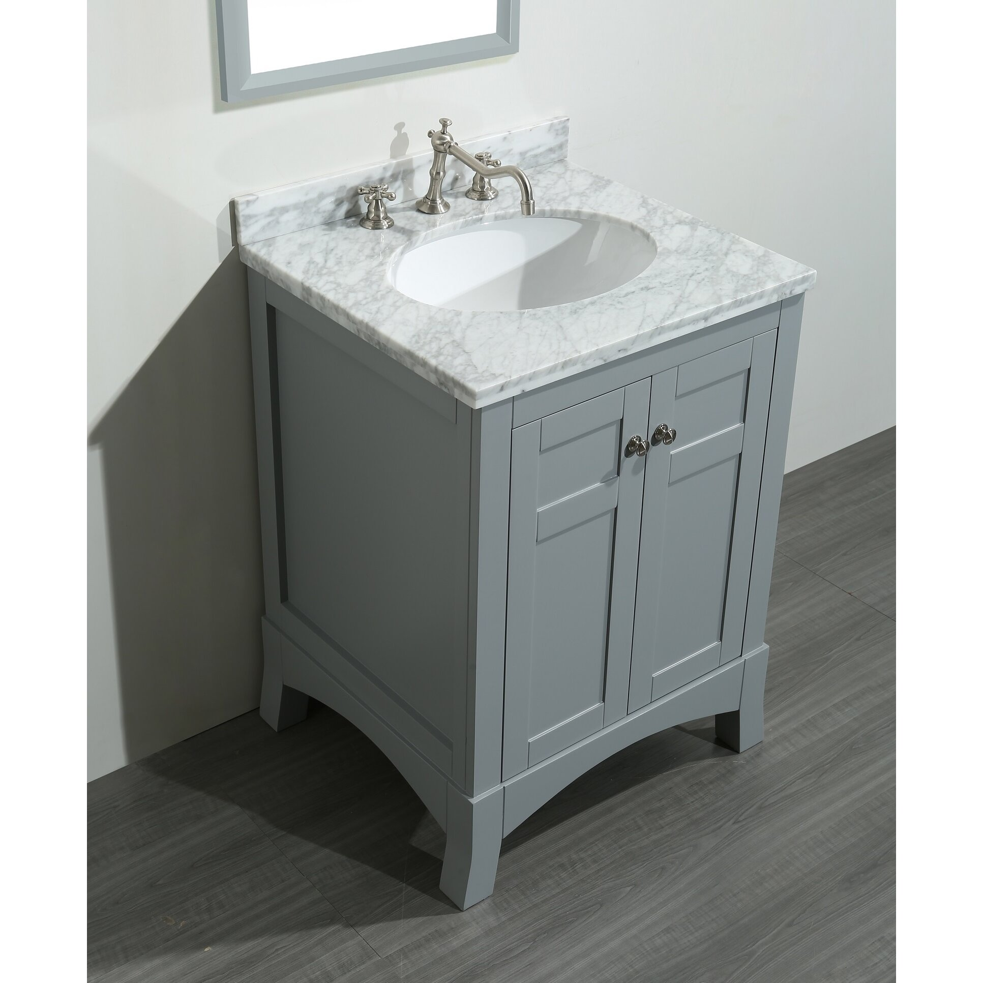 "Eviva New York 24"" Single Bathroom Vanity Set & Reviews"
