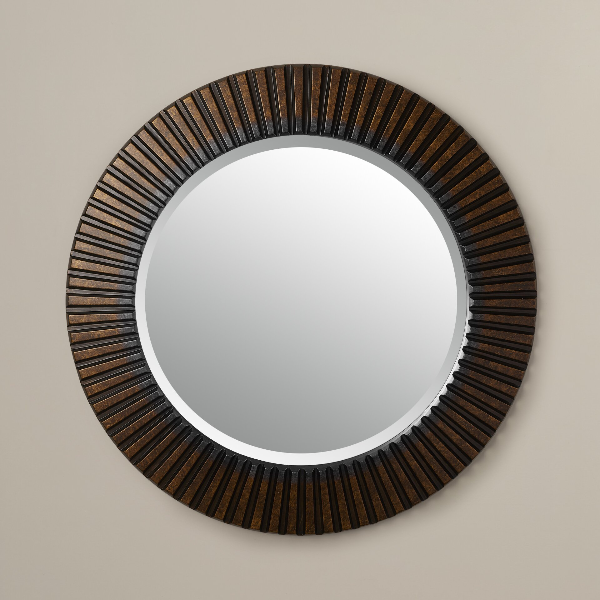 Bungalow Rose Sneek Round Wall Mirror & Reviews