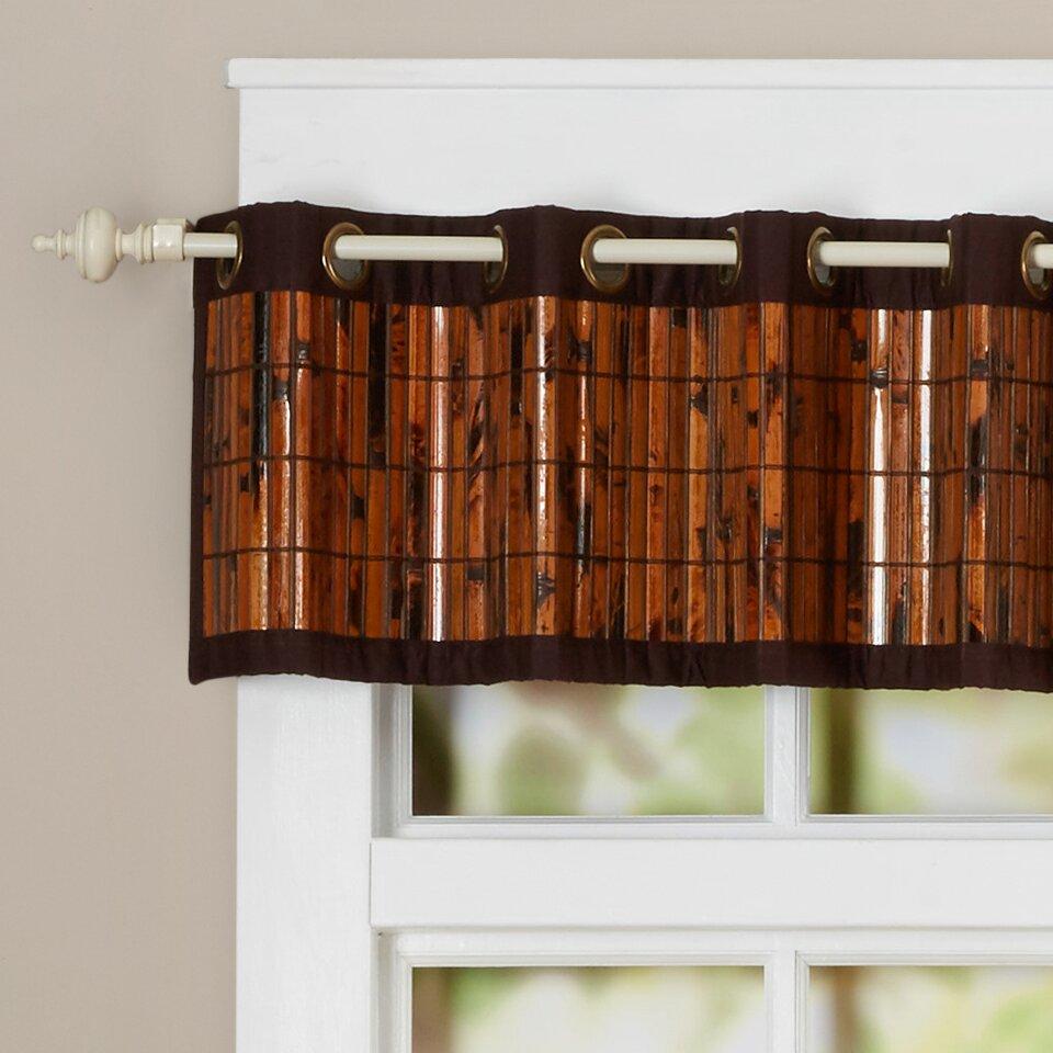 Bungalow Rose Caspian Bamboo Top 72quot Curtain Valance  : Caspian Bamboo Top 72 Curtain Valance BNGL1395 from wayfair.com size 960 x 960 jpeg 104kB