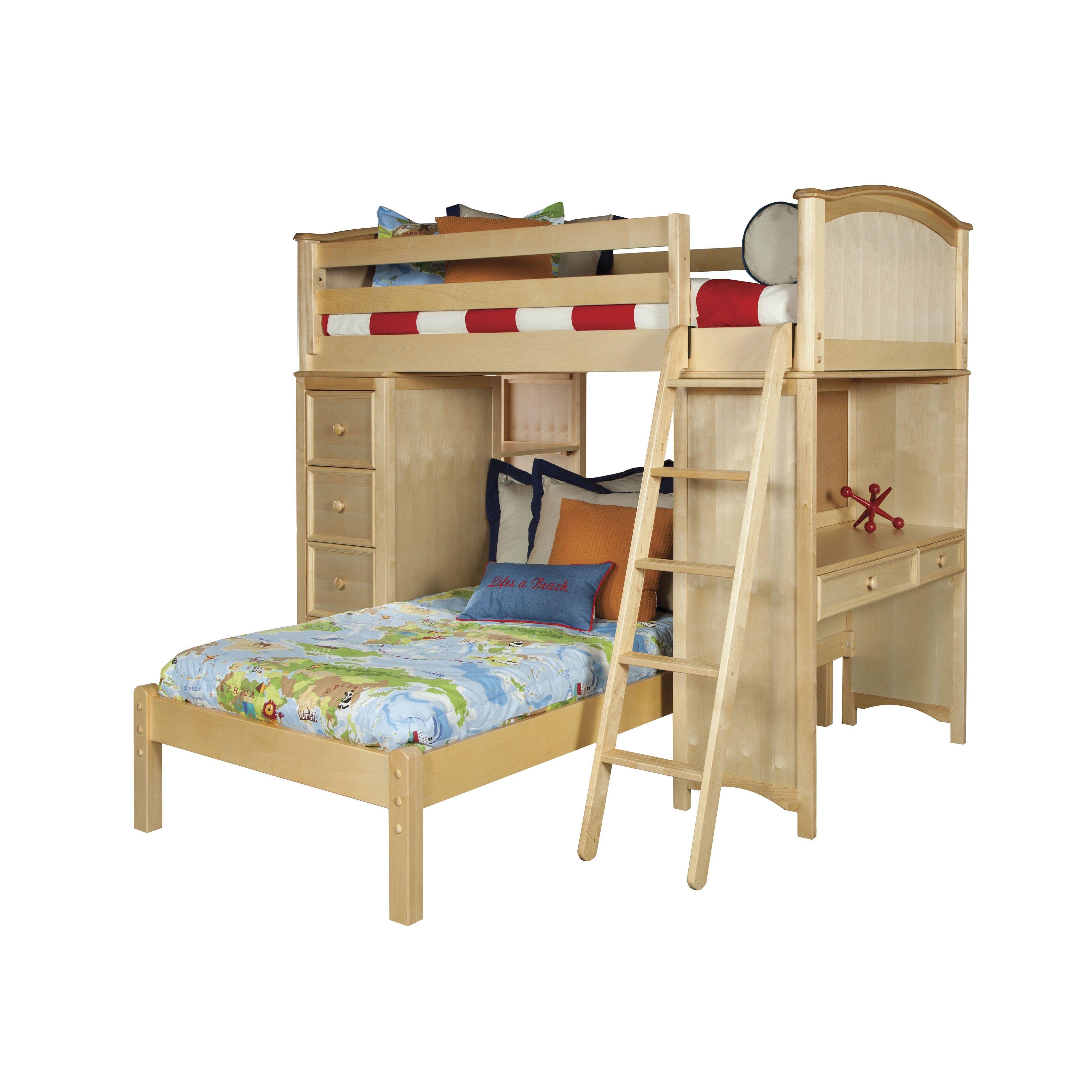 viv rae david twin loft bed customizable bedroom set