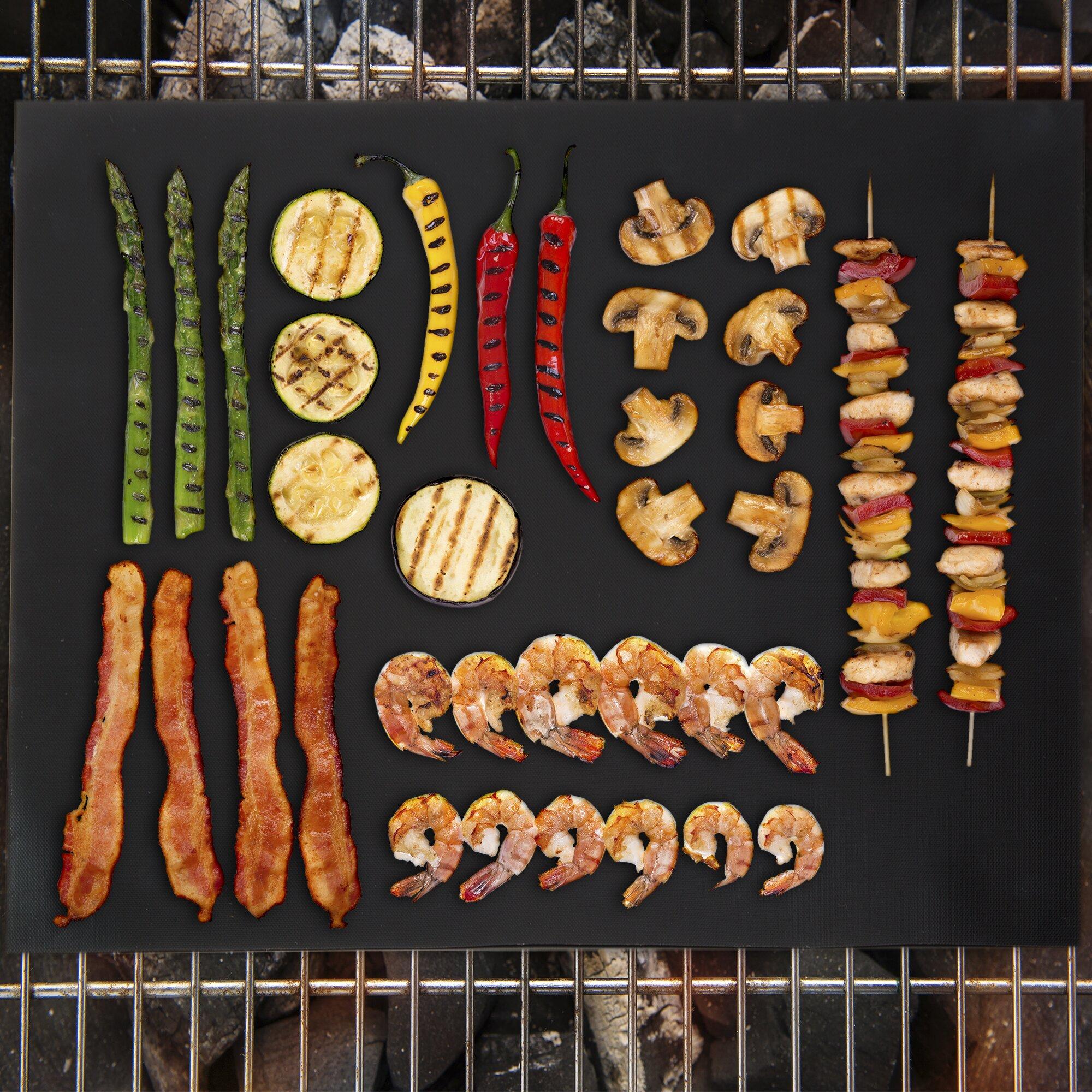 Classic Cuisine Non Stick Bbq Grill Mat Amp Reviews Wayfair