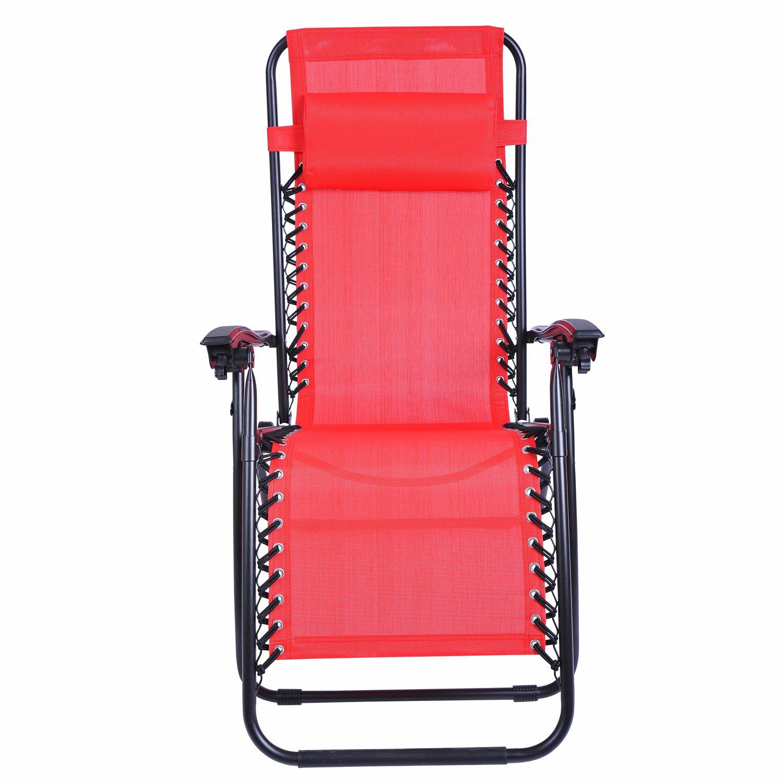 outsunny zero gravity steamer lounge chair reviews wayfair