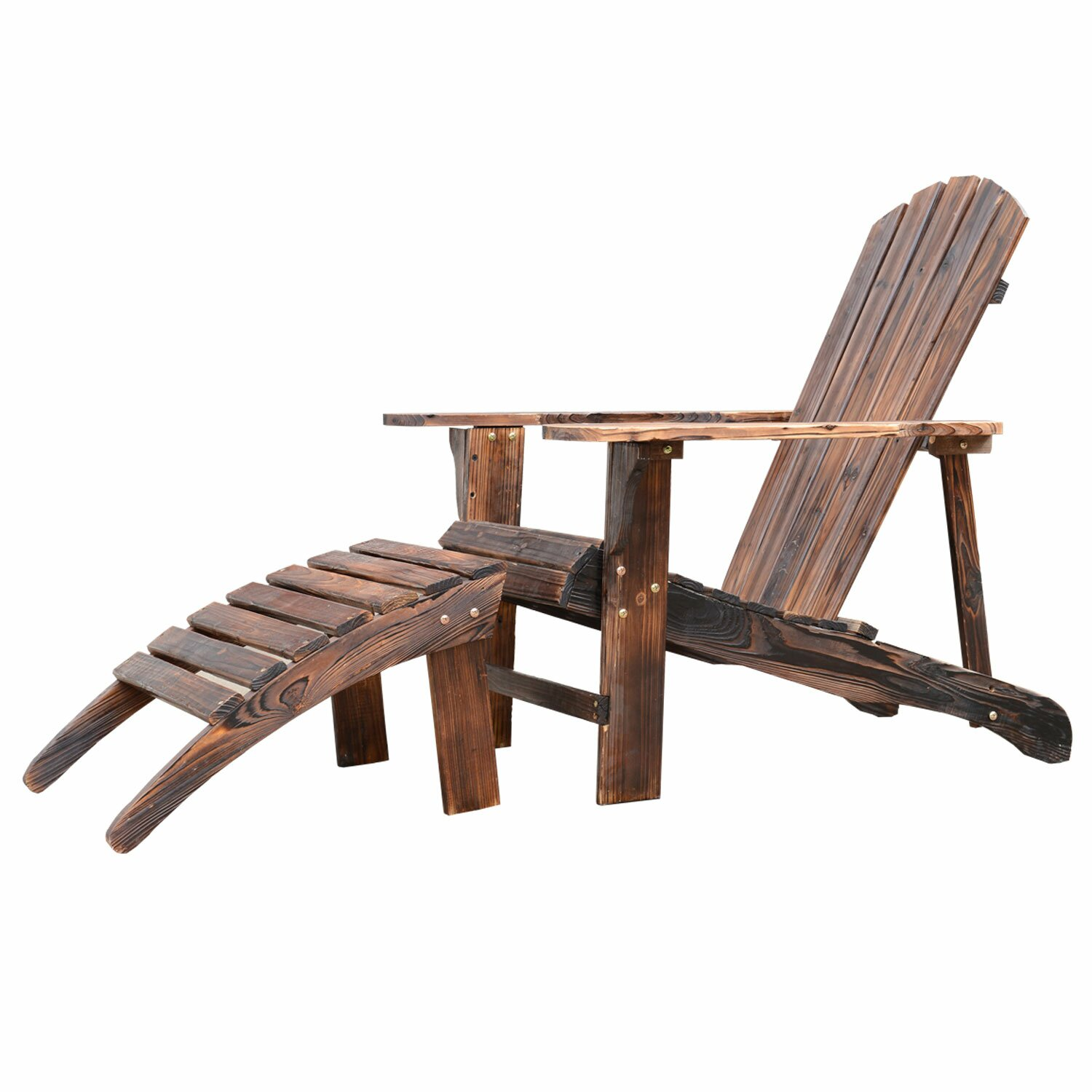 brilliant outdoor lounge chair wood 11