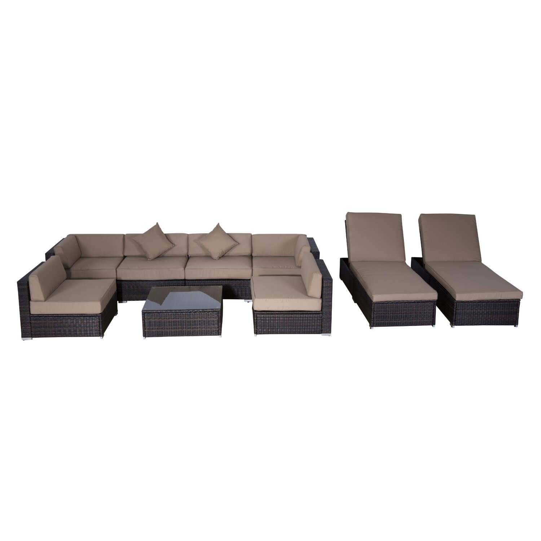 outdoor patio furniture conversation sets outsunny sku otsu1079