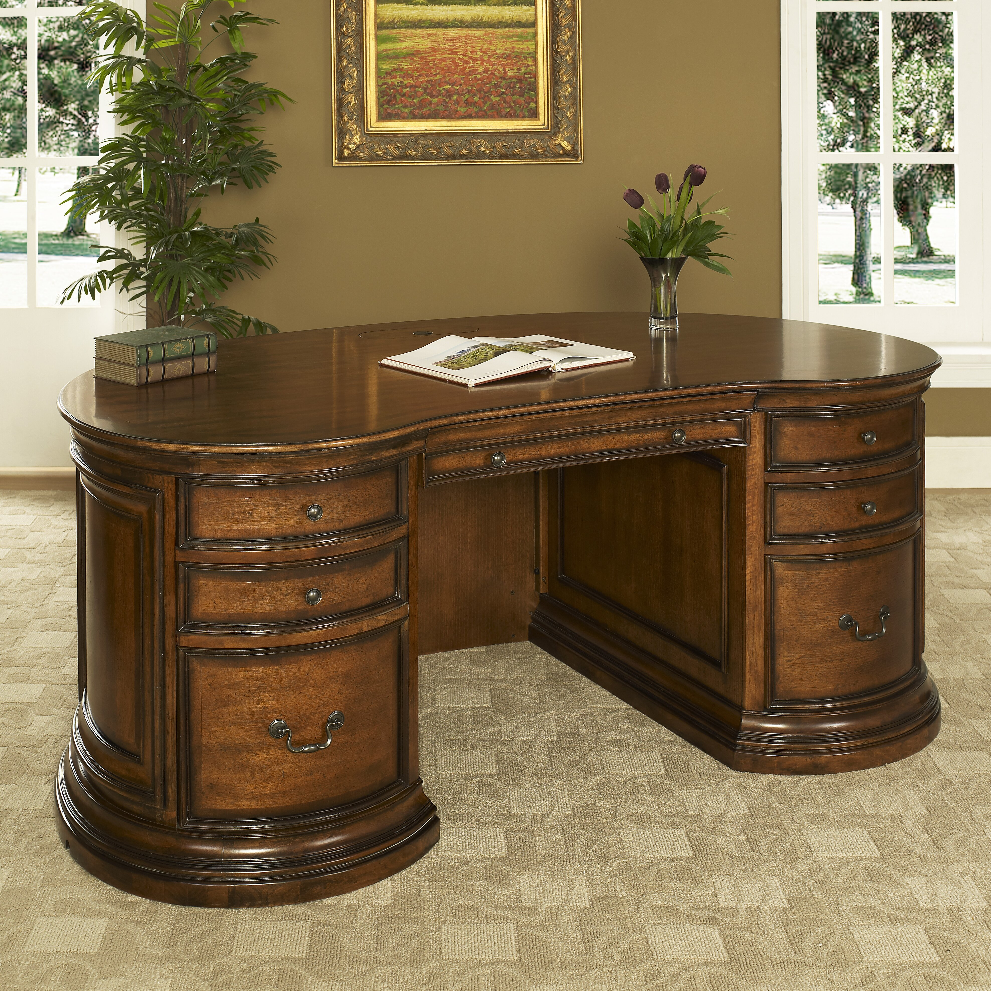Fairfax Home Collections Winsome Executive Desk & Reviews