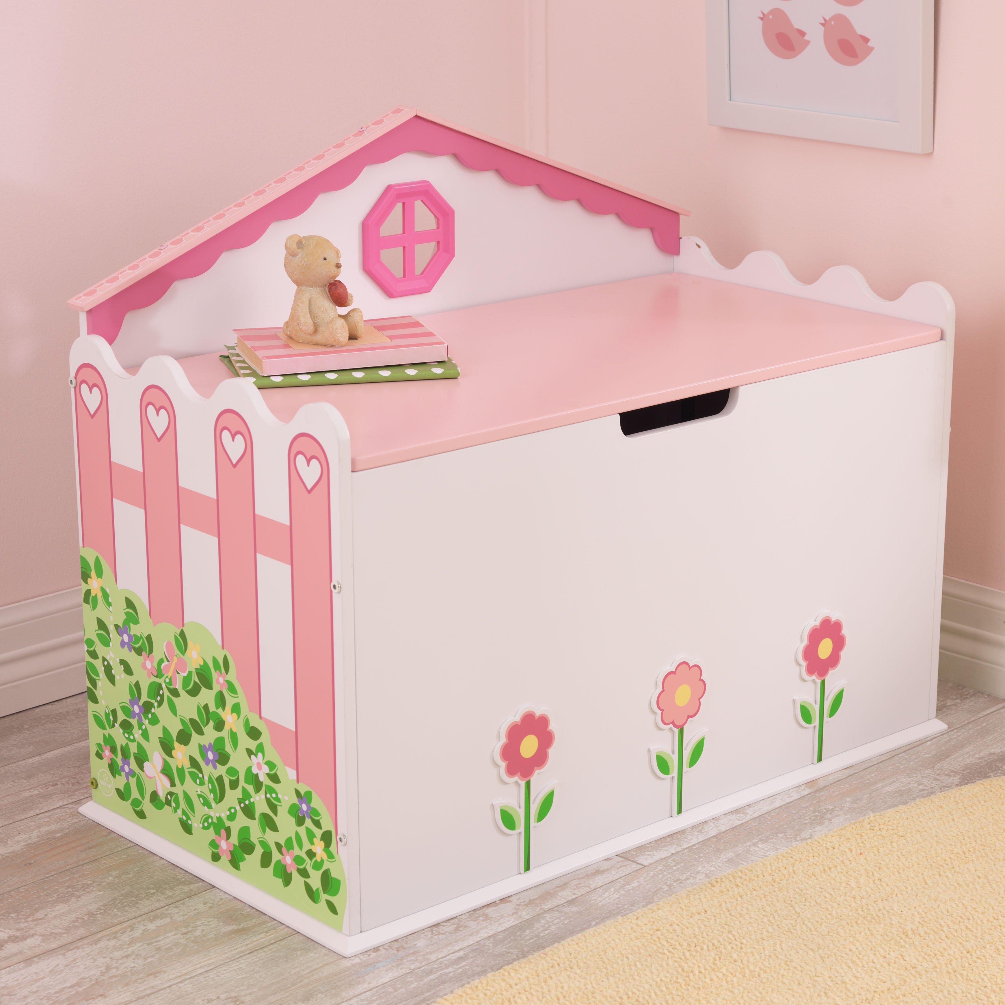 Kidkraft Dollhouse Toy Box Amp Reviews Wayfair