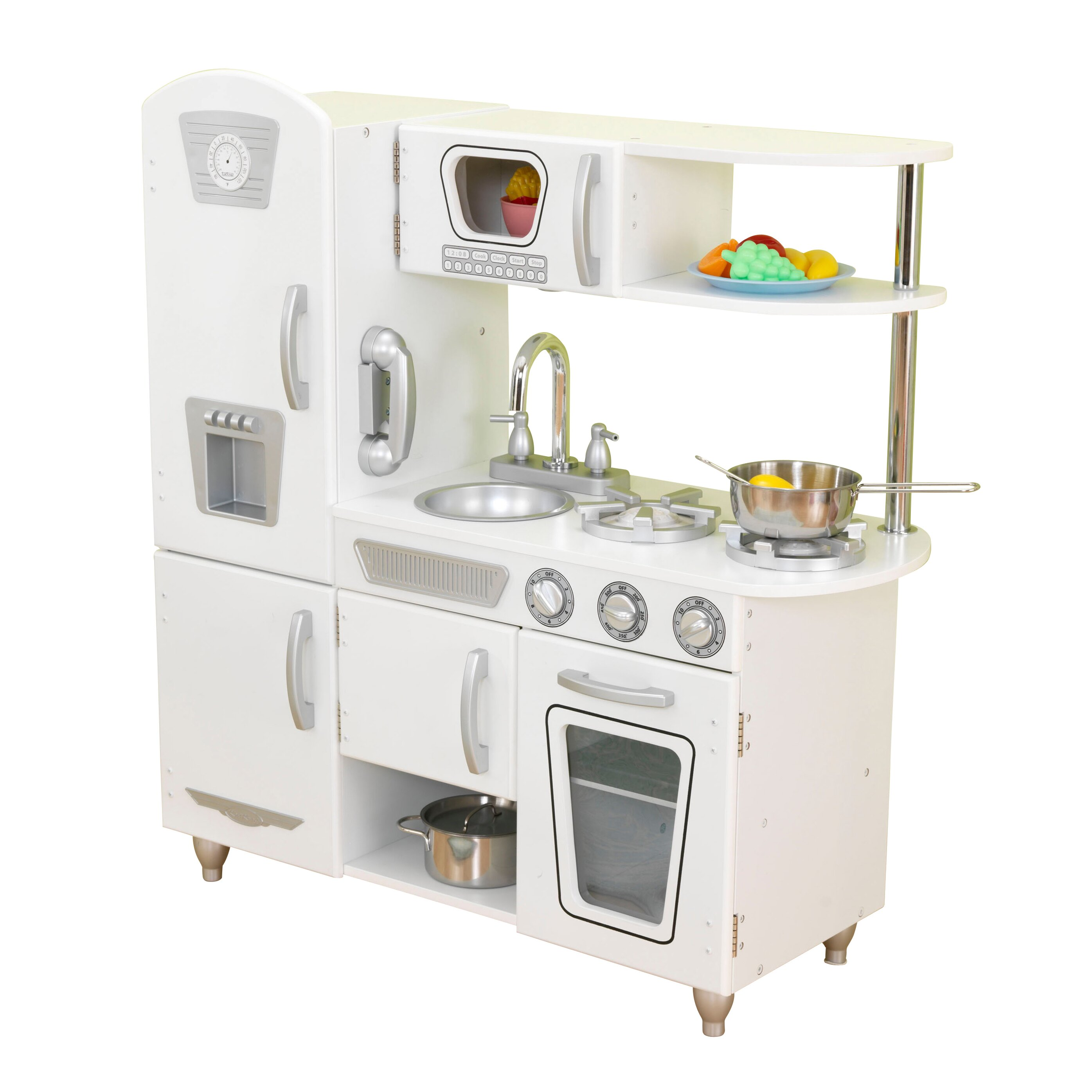 Kidkraft Vintage Kitchen In Blue 53227: KidKraft Vintage Kitchen & Reviews