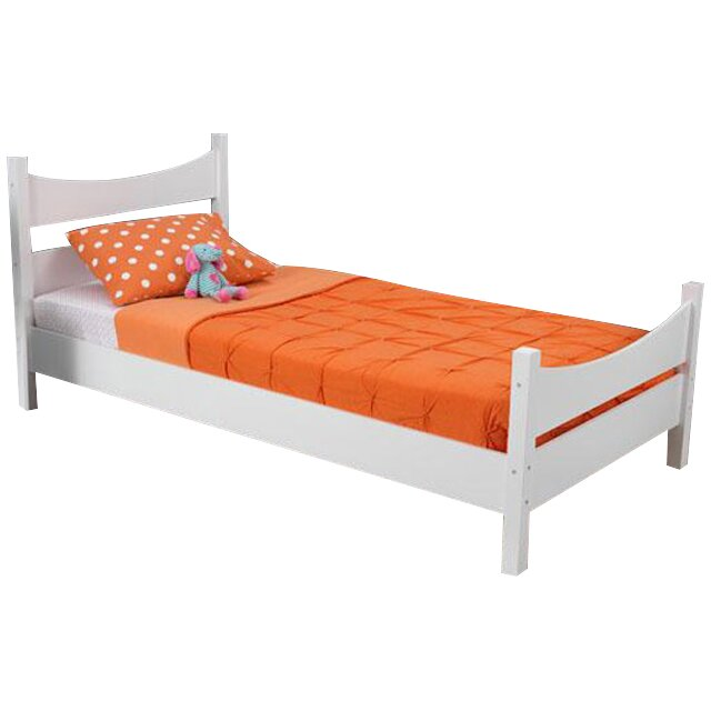 kidkraft addison twin size bed in white 76271 3