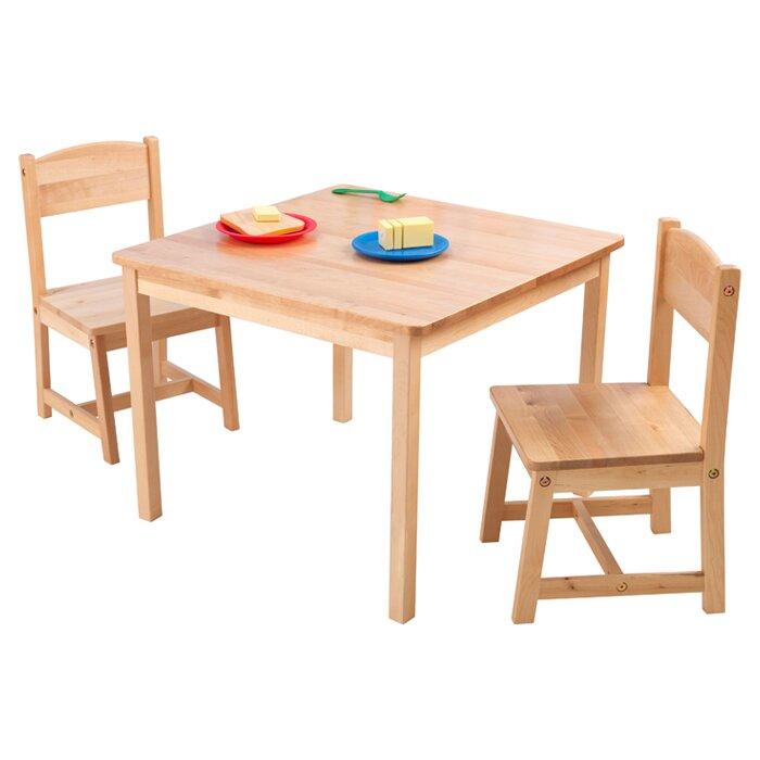 KidKraft Aspen Kids 3 Piece Table And Chair Set Reviews