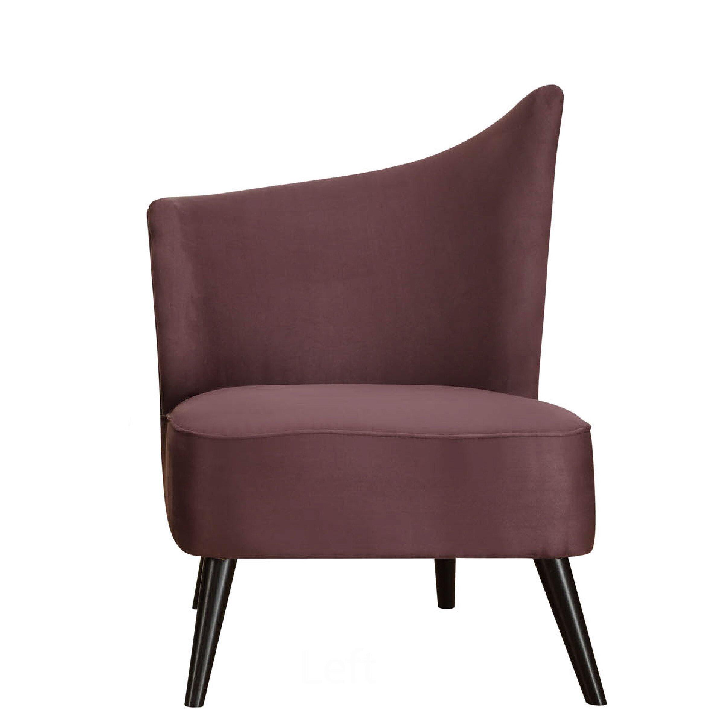 Armen Living Stage Door Elegant Left Side Chair Amp Reviews