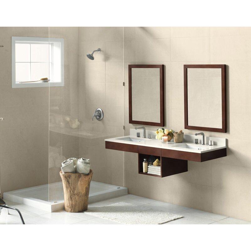 adina 23 wall mount bathroom vanity base cabinet in dark cherry by