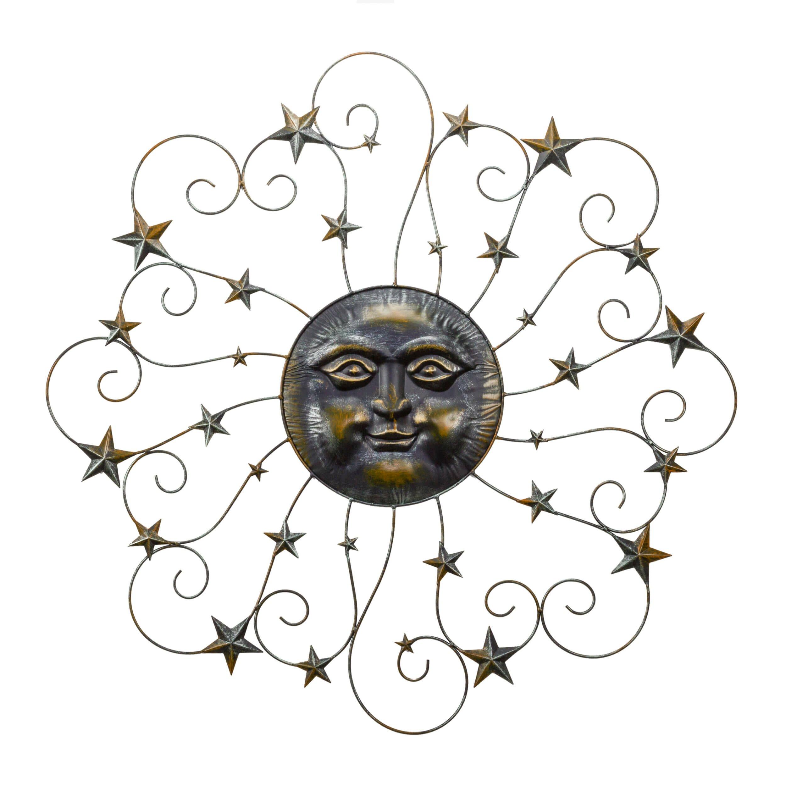 bayaccents sun and stars wall d cor reviews wayfair