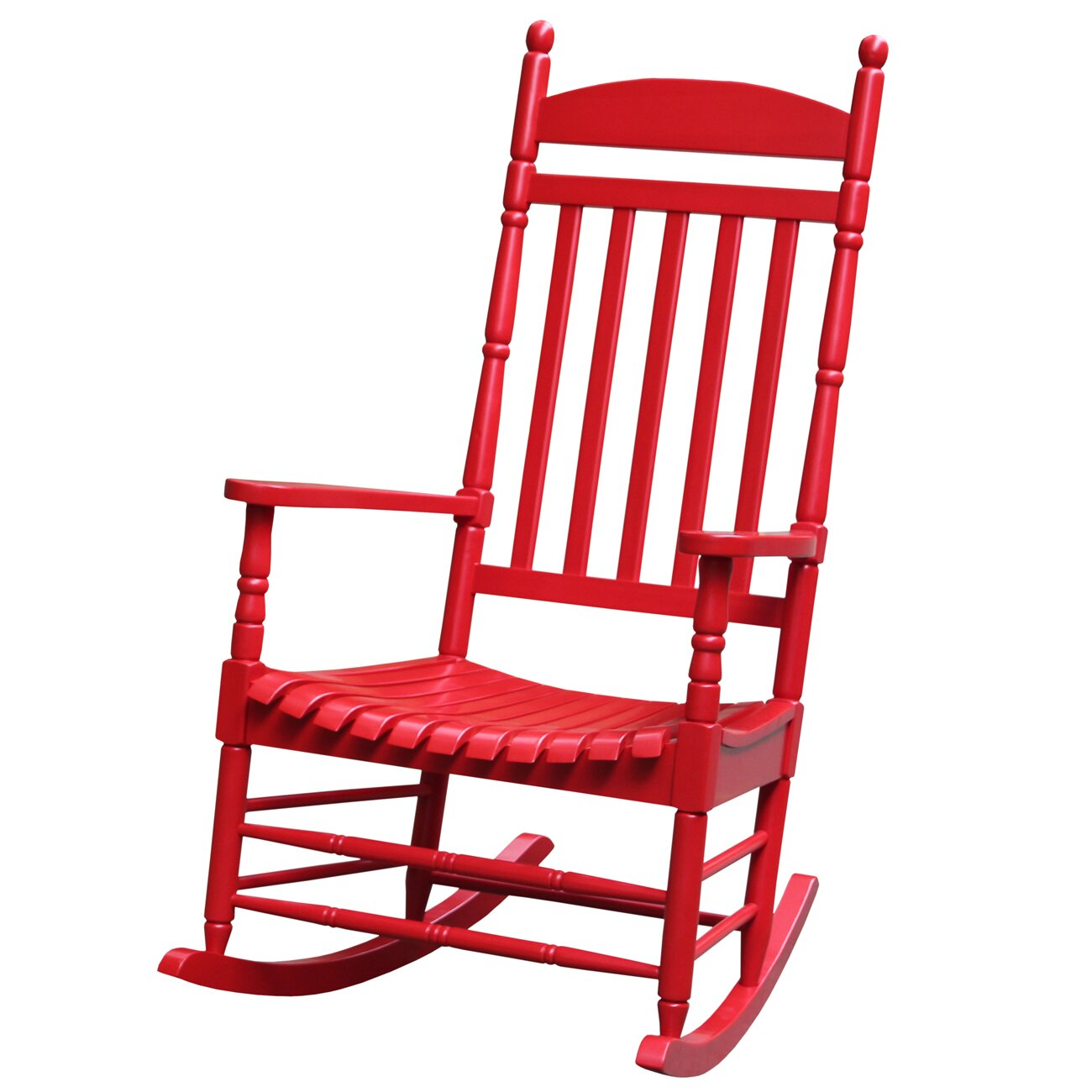 Breakwater Bay Jonesboro Solid Wood Rocking Chair & Reviews  Wayfair