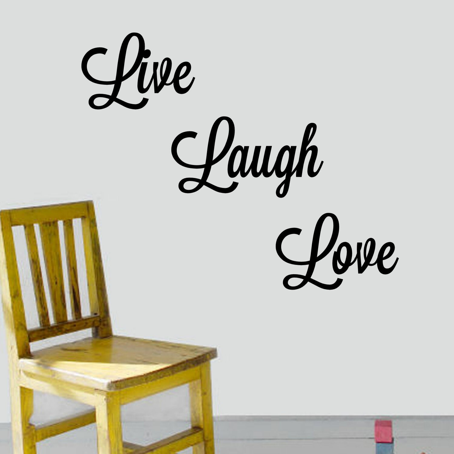 decalthewalls live laugh love wall decal amp reviews wayfair live laugh love wall stickers by the binary box