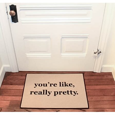 Be there in five you 39 re like really pretty reminder for You re like really pretty rug