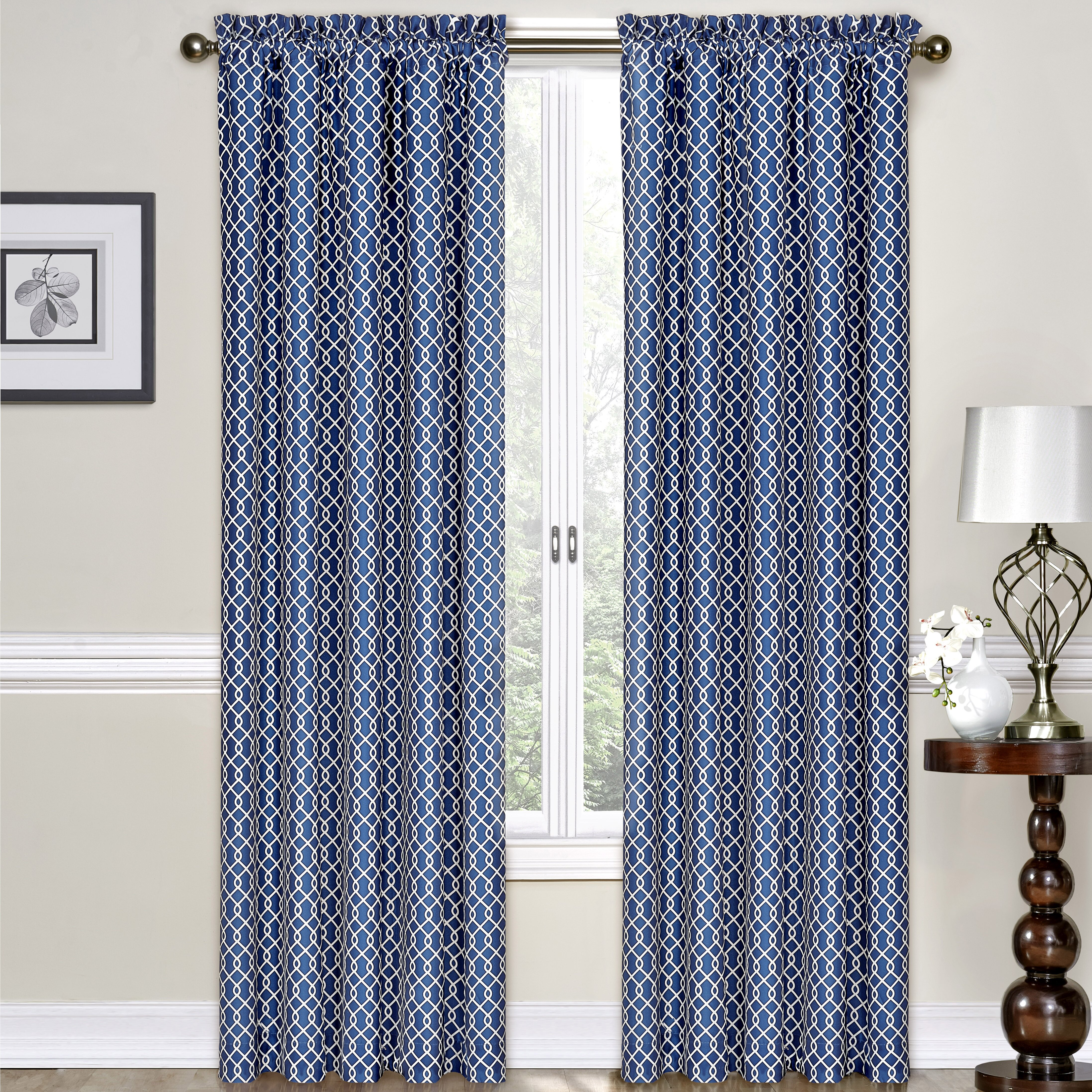 Traditions by Waverly Ellis Single Curtain Panel & Reviews | Wayfair