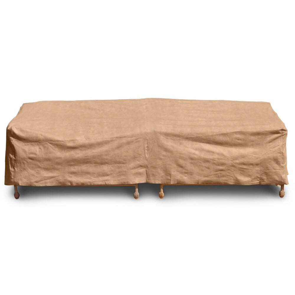 Budgeindustries chelsea outdoor sofa cover reviews wayfair for Wayfair garden furniture covers