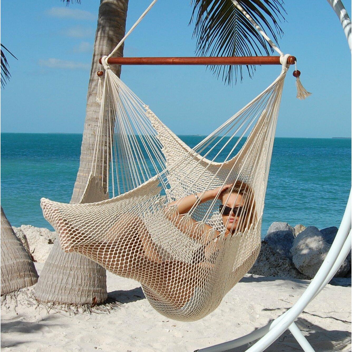 Kwhammocks Large Caribbean Hammock Chair Amp Reviews Wayfair