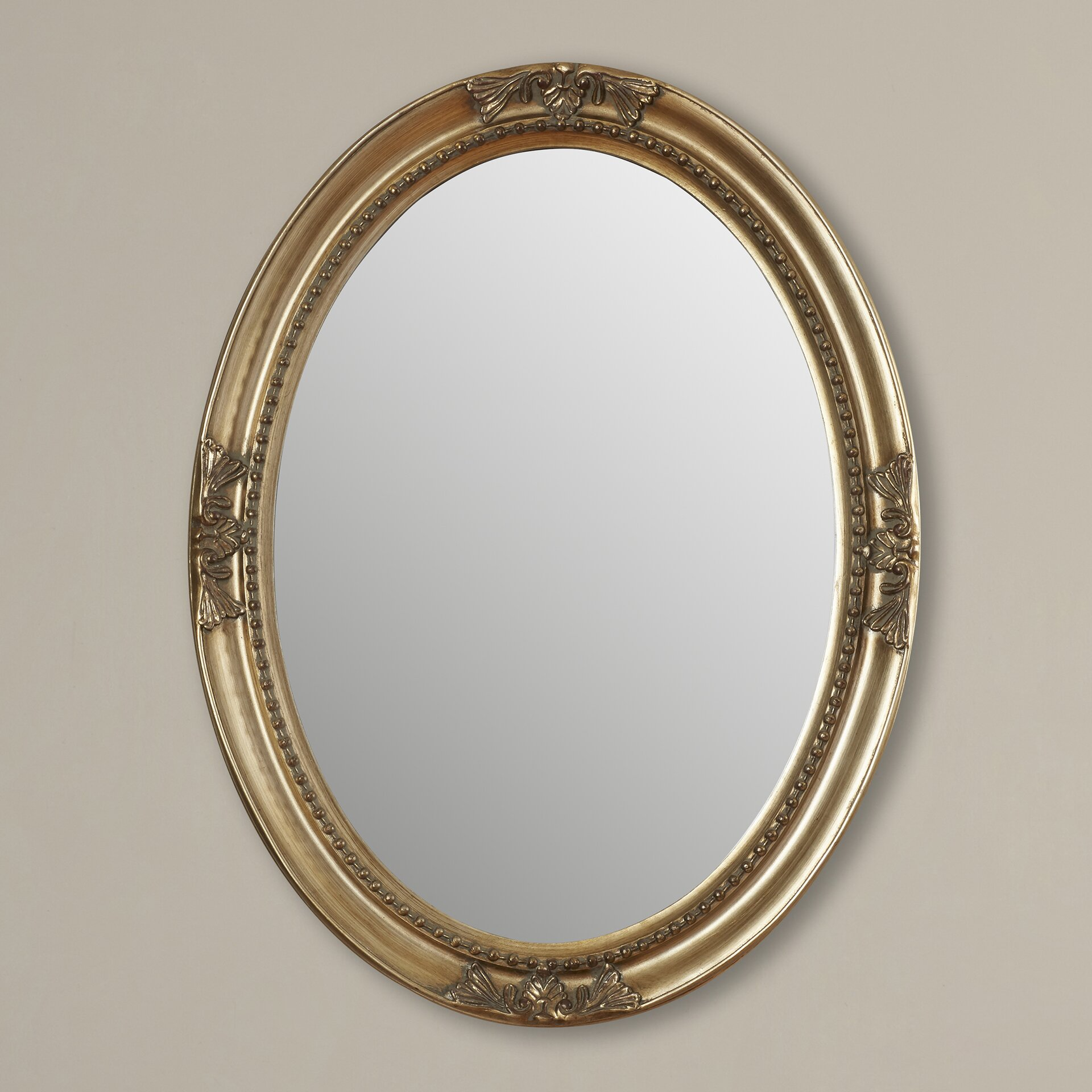 Rosalind Wheeler Smythe Wall Mirror u0026 Reviews : Wayfair