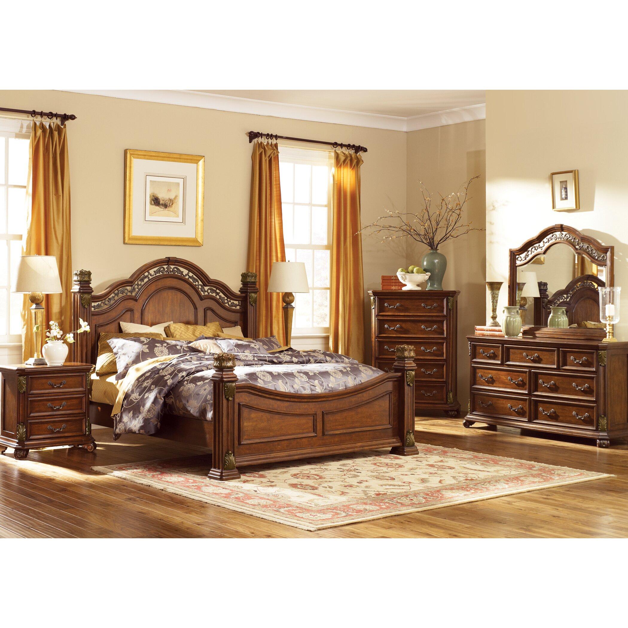 astoria grand panel customizable bedroom set reviews wayfair