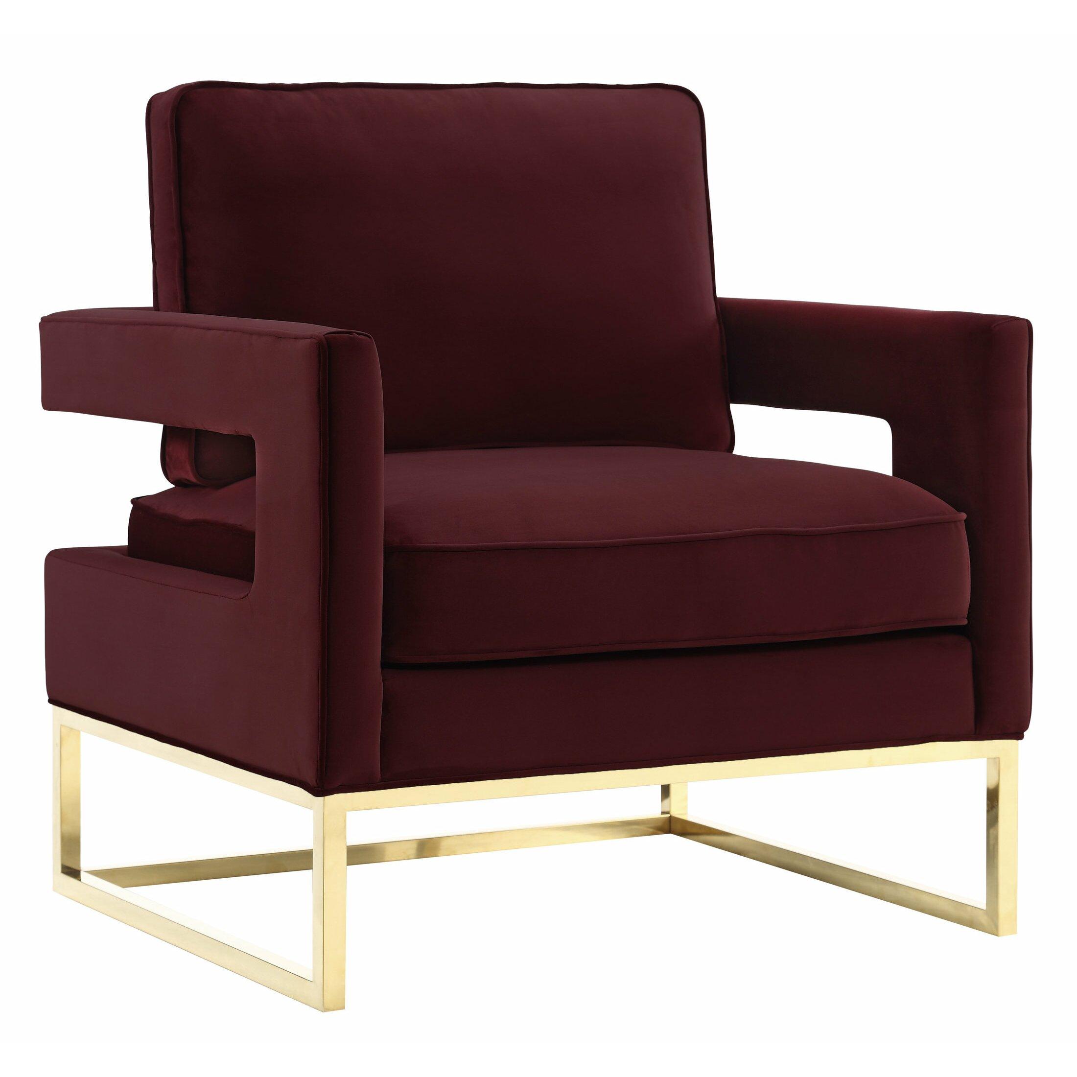 Mercer41 Spade Arm Chair Amp Reviews Wayfair