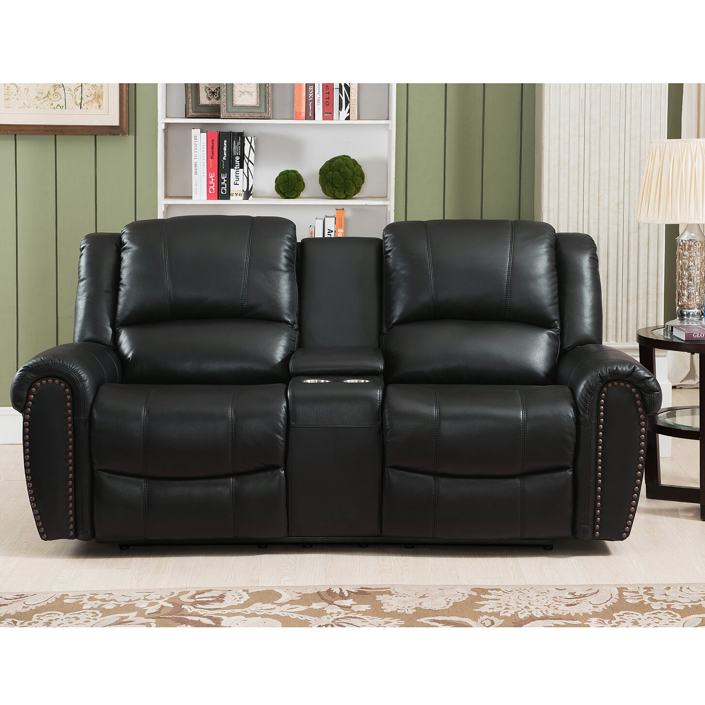 Houston 3 piece leather recliner living room set houston slc jpg