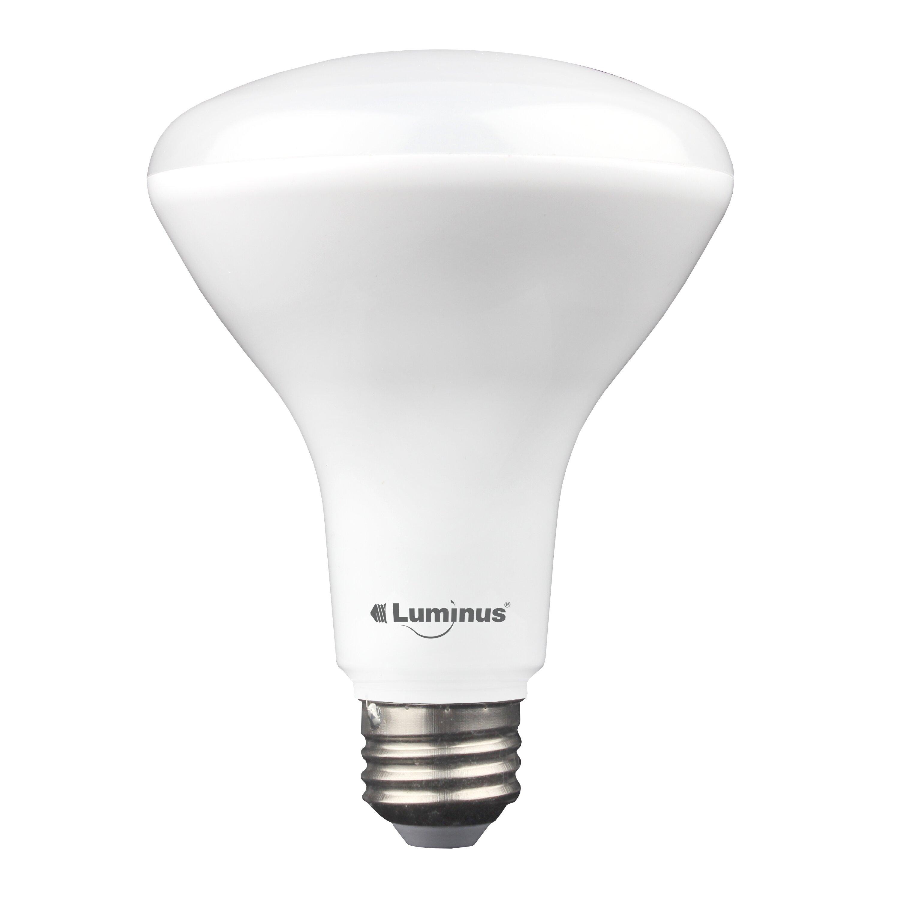 luminus 11w br30 medium led light bulb pack of 6 reviews wayfair. Black Bedroom Furniture Sets. Home Design Ideas