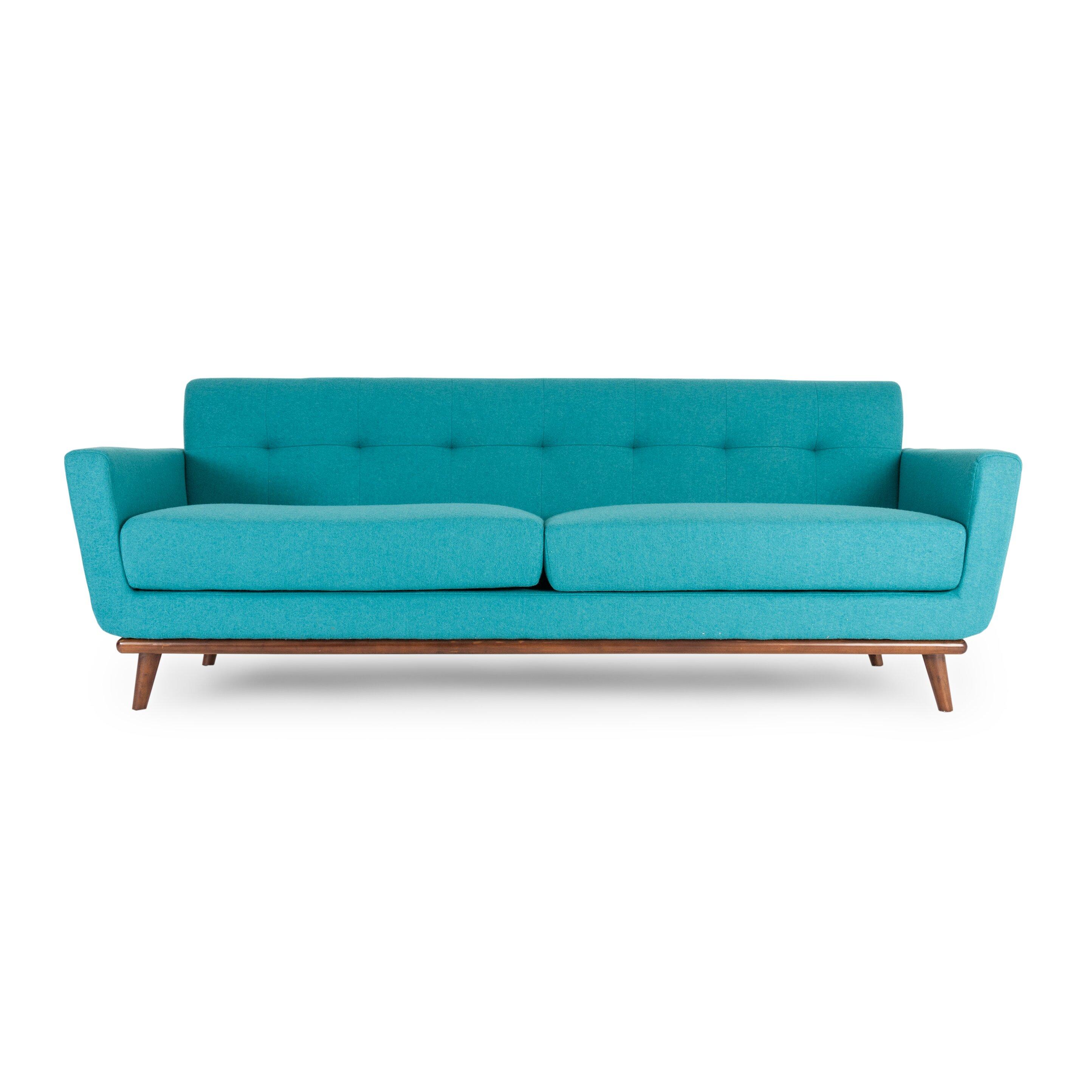 Kardiel jackie mid century modern vintage sofa reviews for Mid century modern sofas