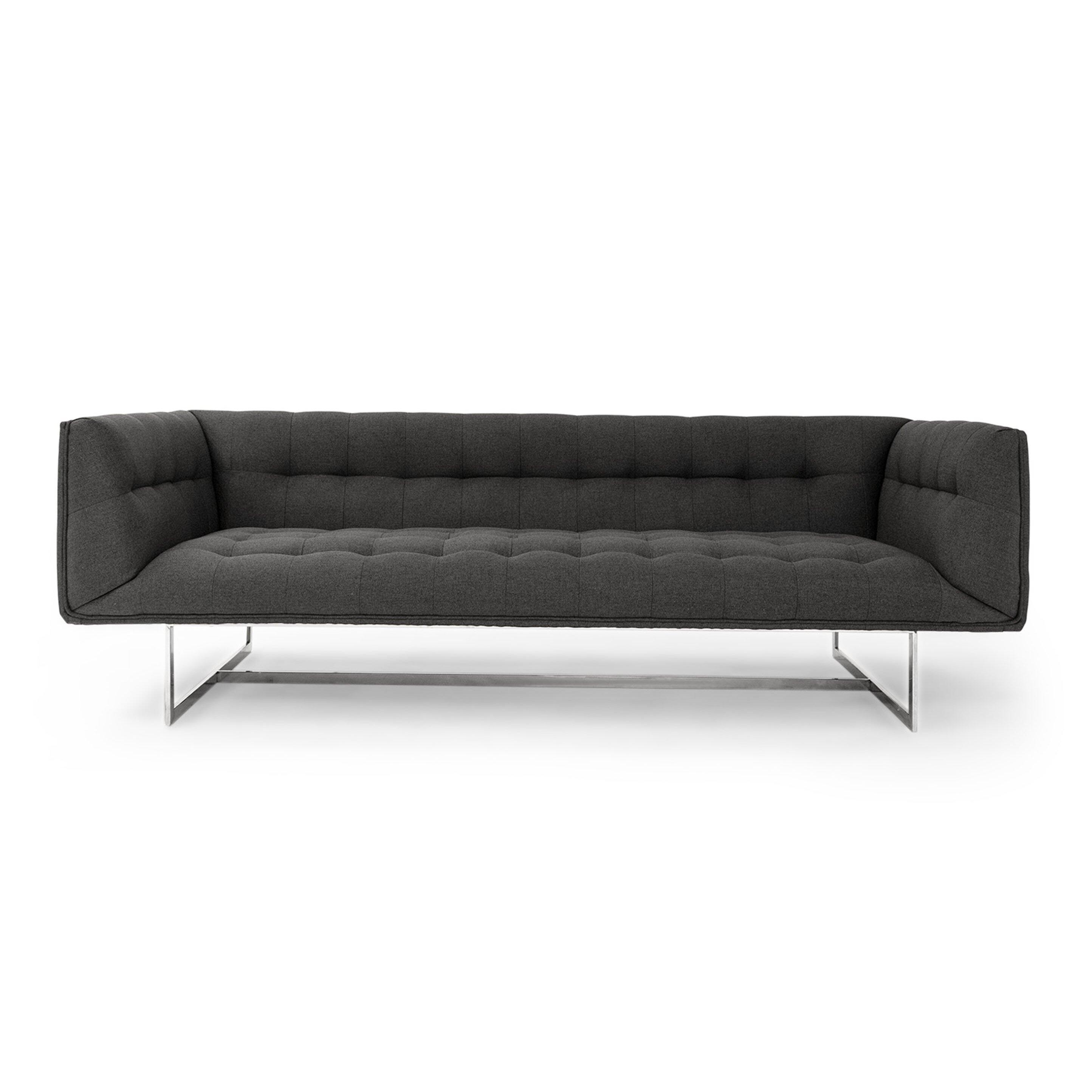 Kardiel edward mid century modern sofa amp reviews wayfair