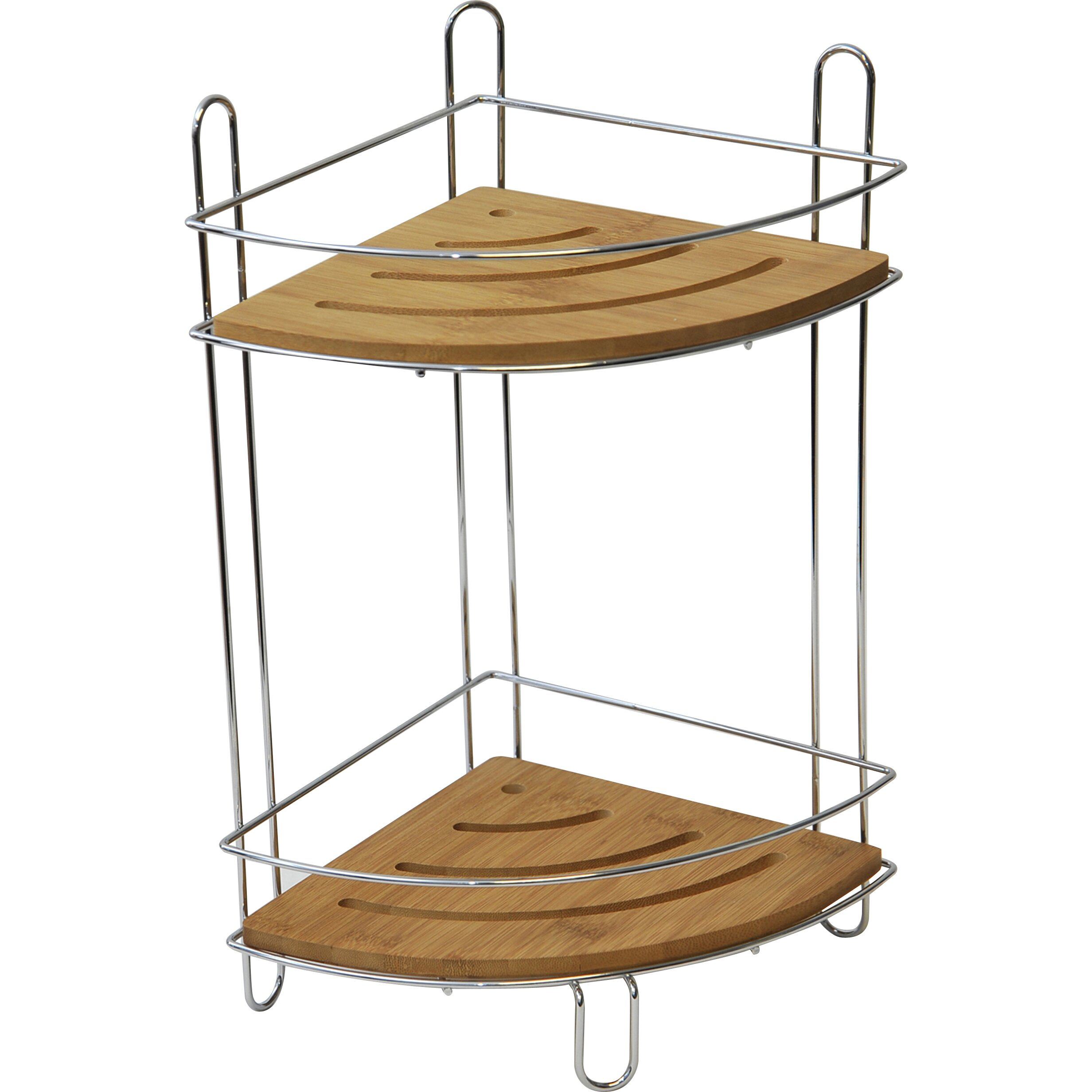 Evideco Free Standing Corner Shower Caddy Reviews Wayfair