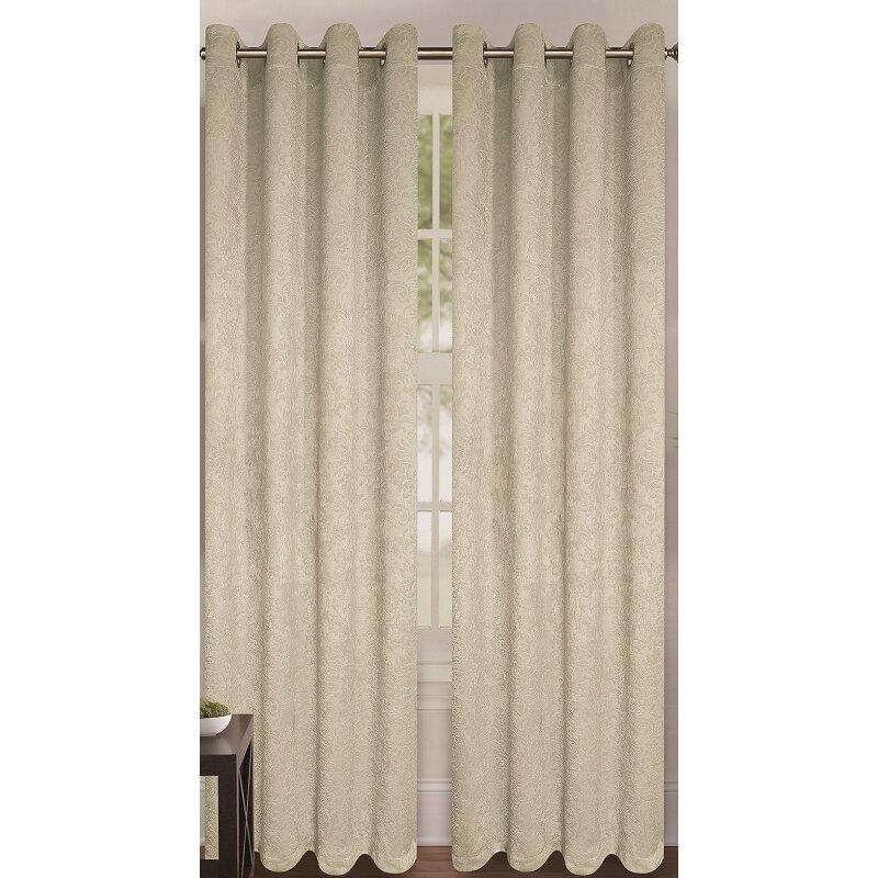 Glory Home Design Milano Curtain Panel Reviews Wayfair