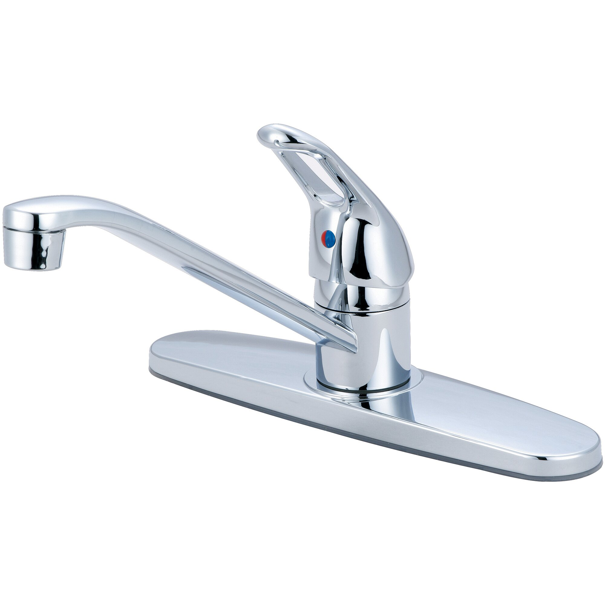 single handle centerset kitchen faucet wayfair