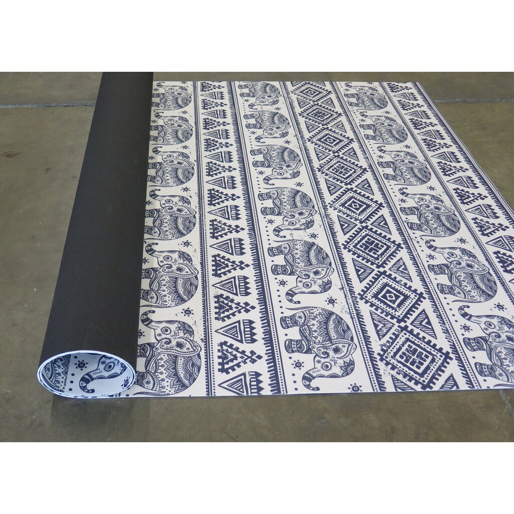 Blue white area rug wayfair for Blue and white area rugs