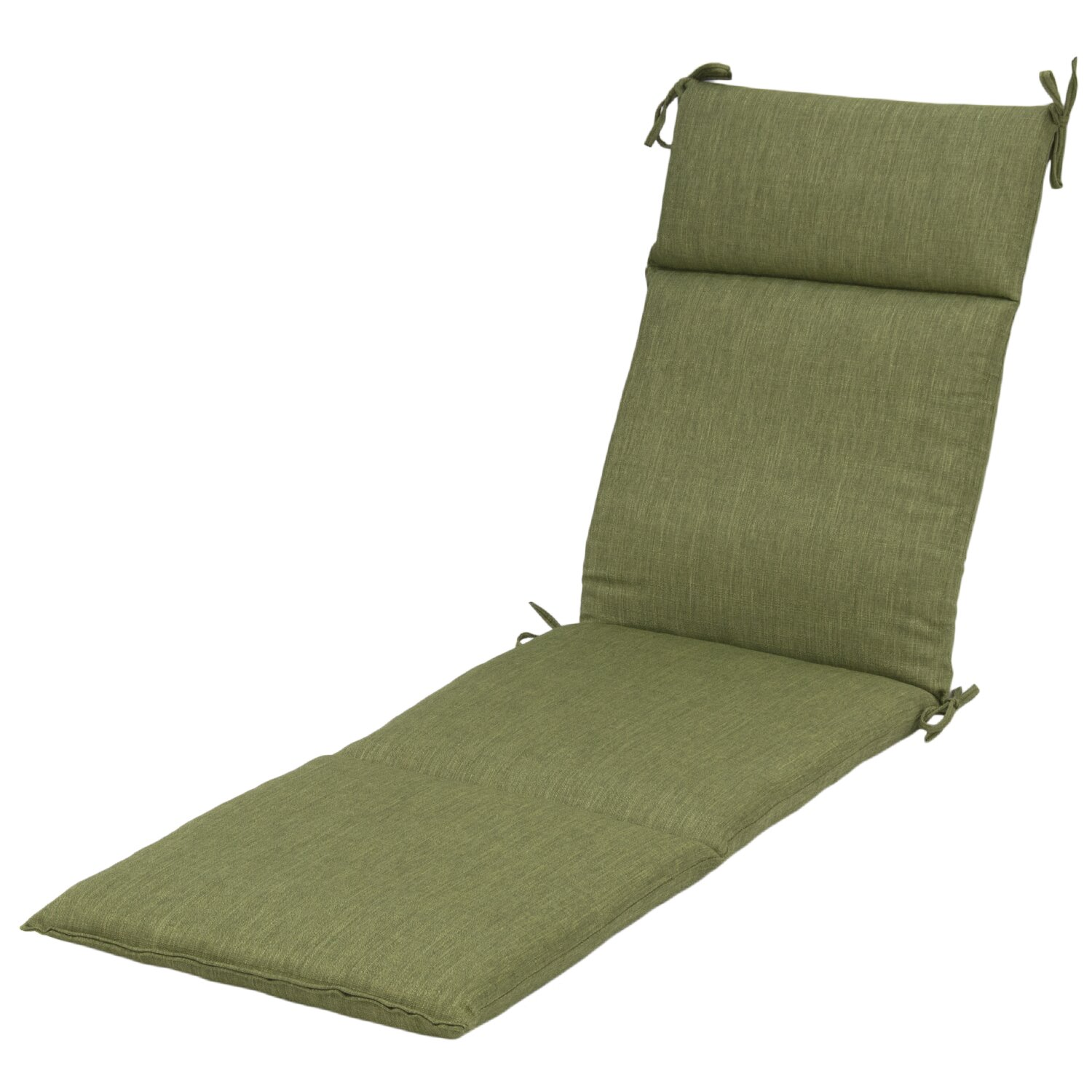 Outdoor chaise lounge cushion wayfair for Chaise longue cushion