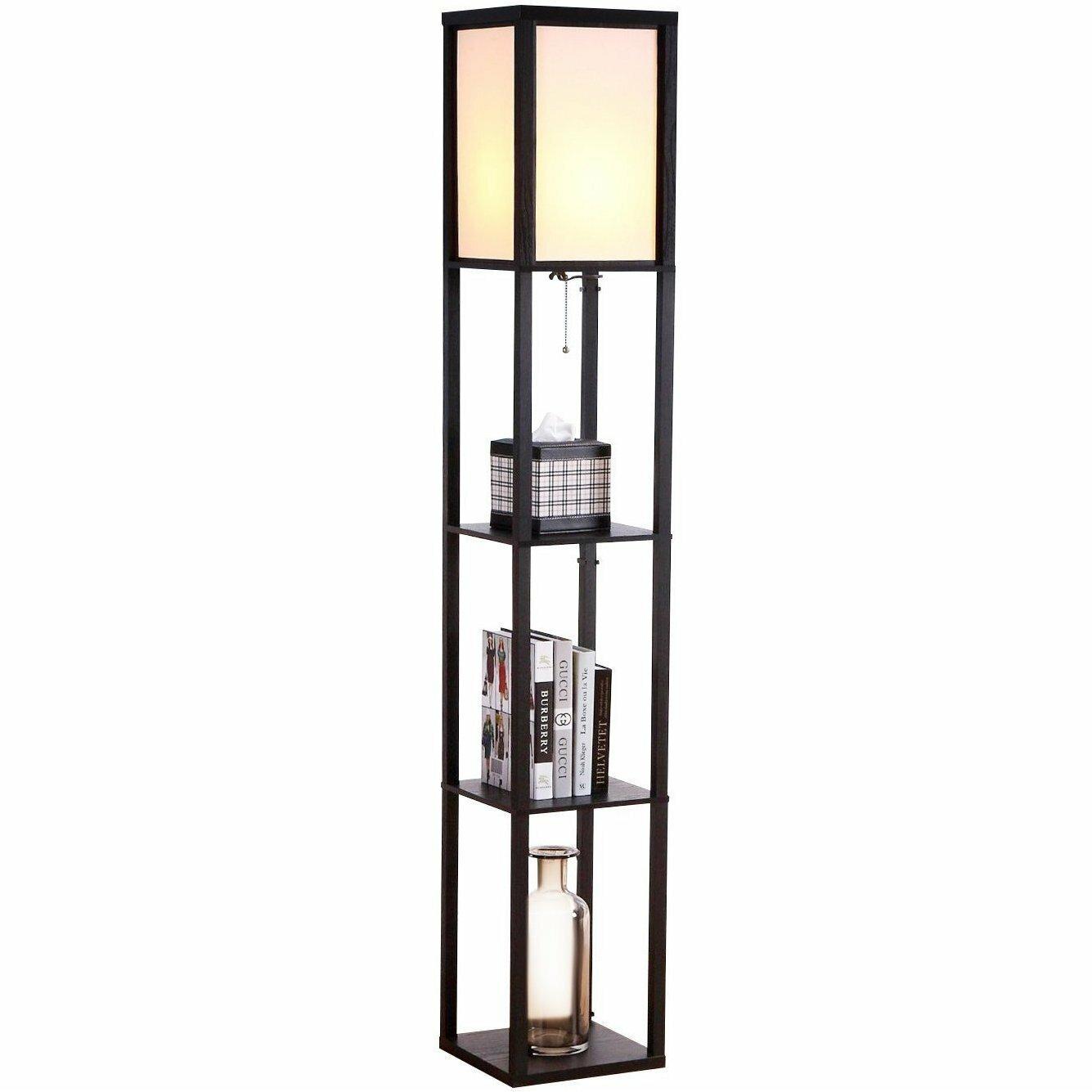 "Floor Lamps For Living Room With Shelves Reading Bedroom: Maxwell Shelf 63"" Floor Lamp"