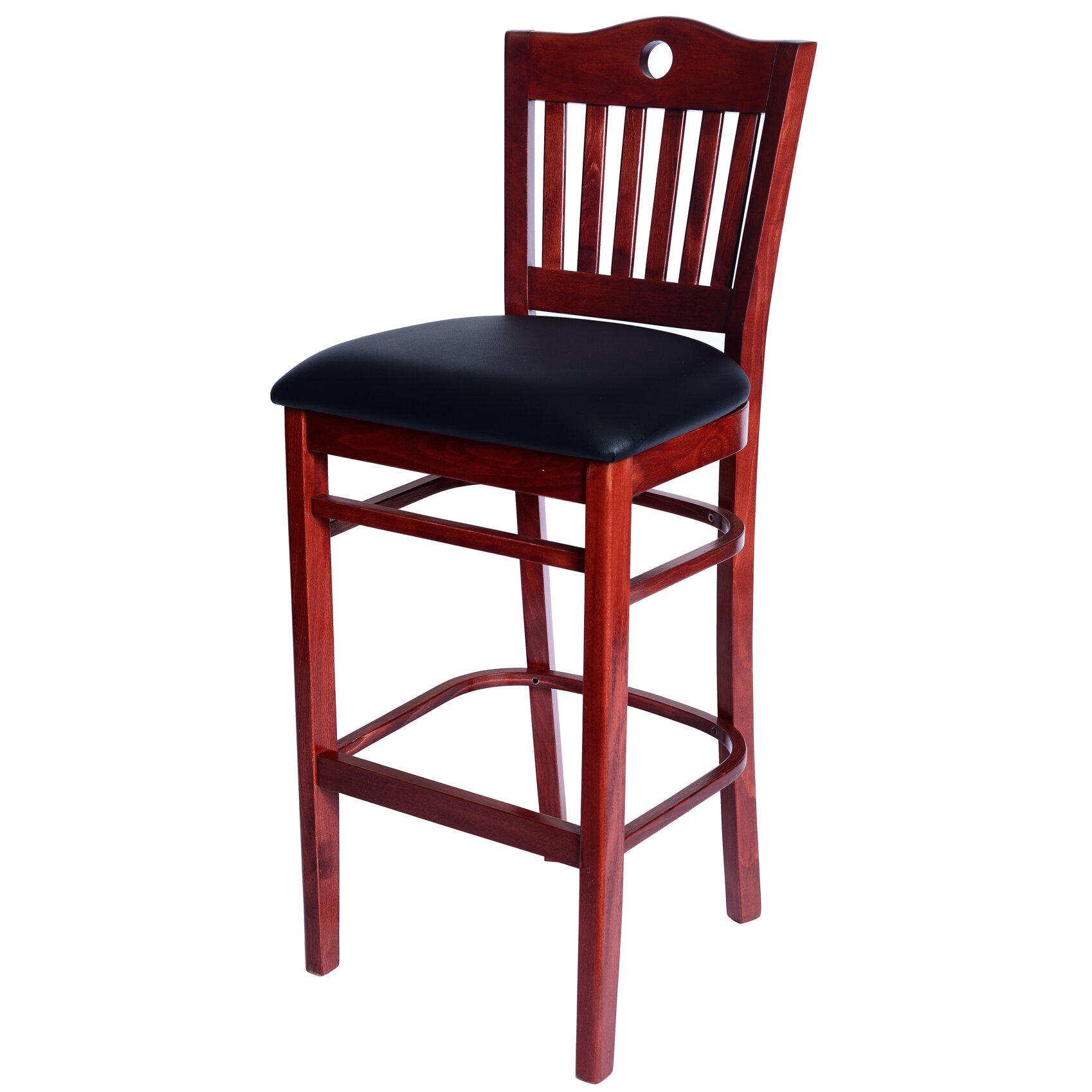 poker 30 bar stool with cushion by benkel seating