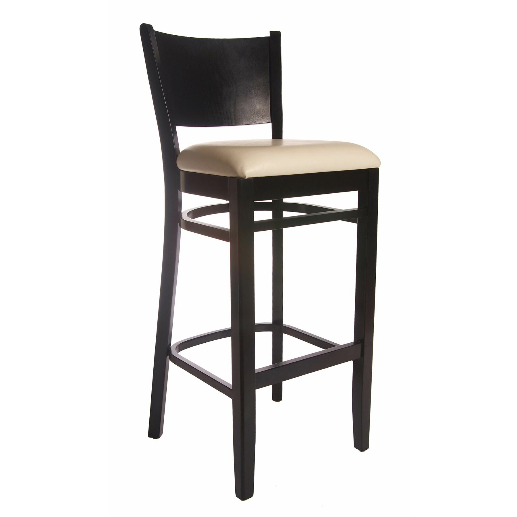 winston 30 bar stool with cushion by benkel seating