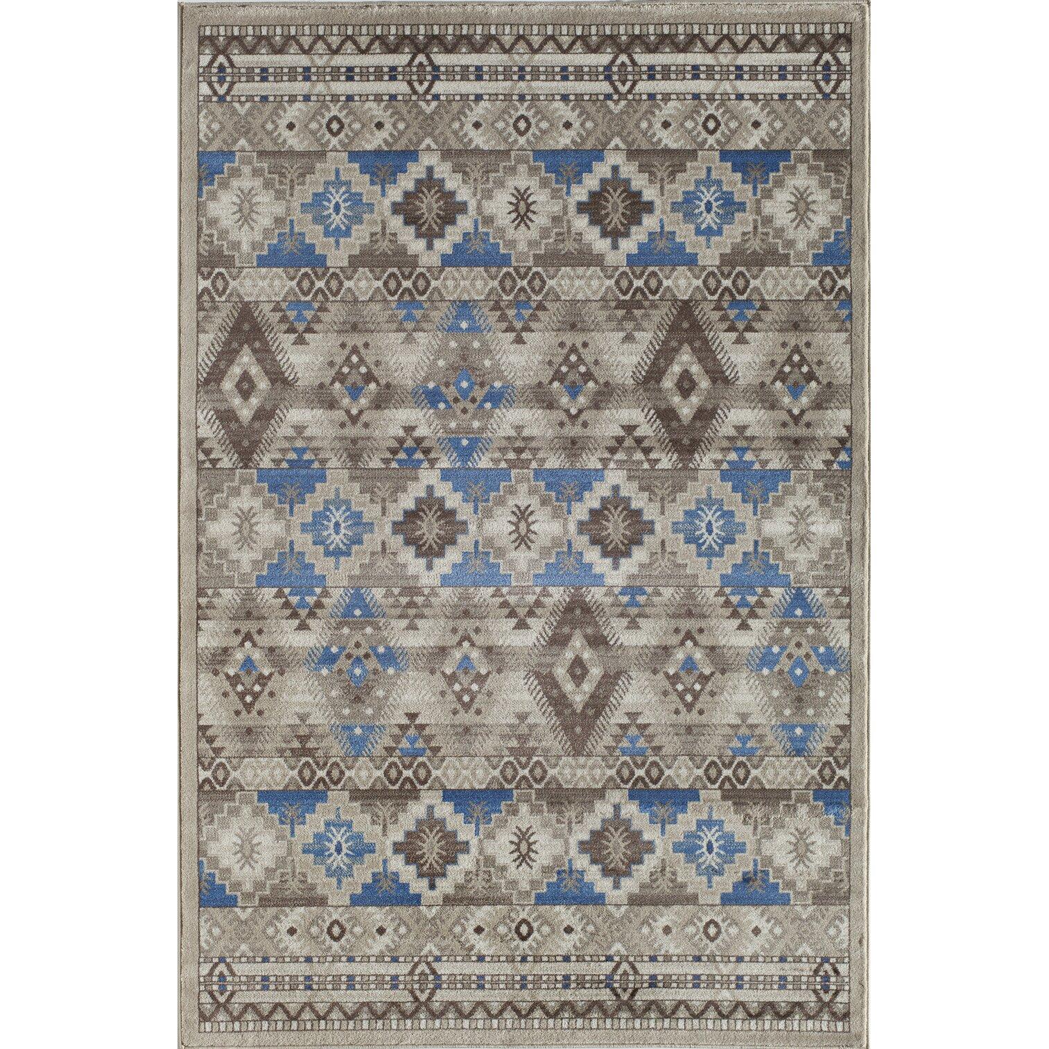 remington blue gray area rug wayfair. Black Bedroom Furniture Sets. Home Design Ideas