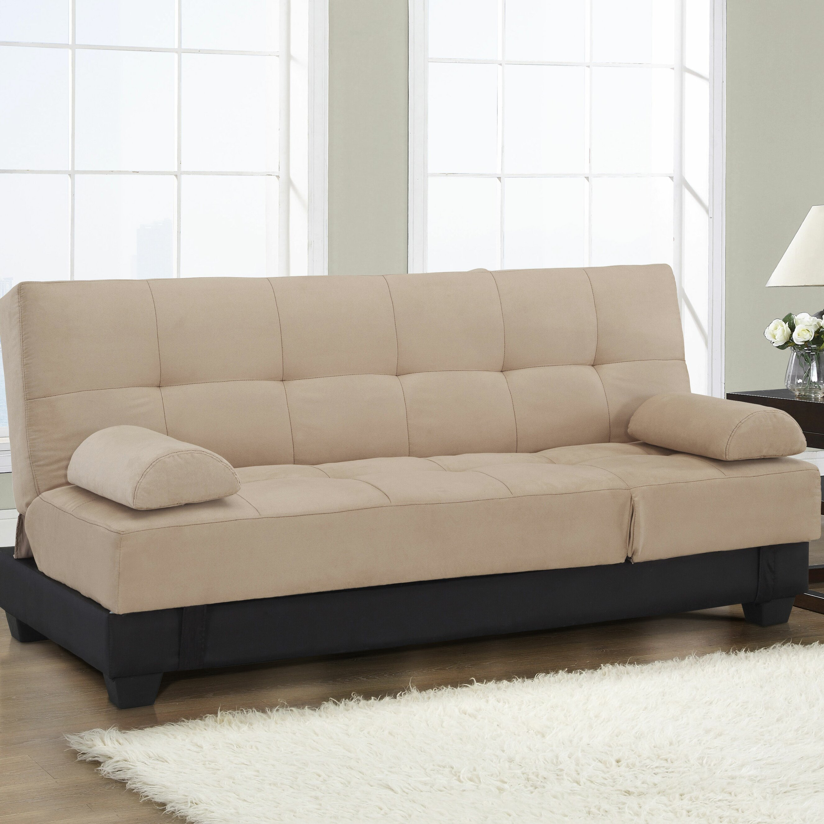 What Is The Difference Between A Sofa And A Couch: Latitude Run Convertible Sofa & Reviews
