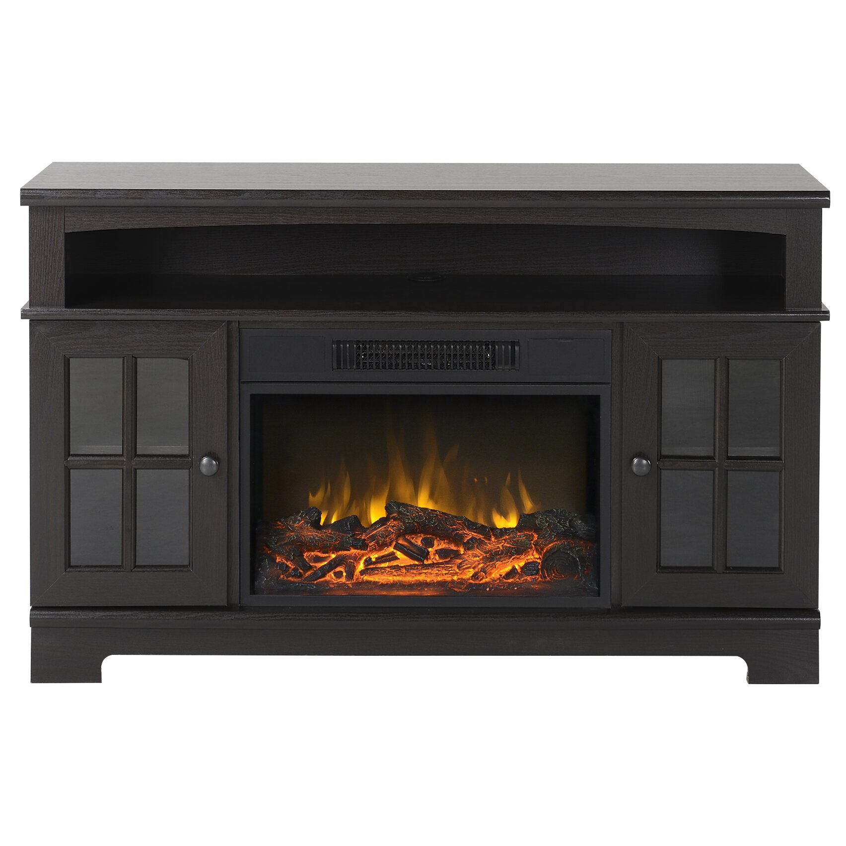 Latitude Run TV Stand with Electric Fireplace & Reviews | Wayfair