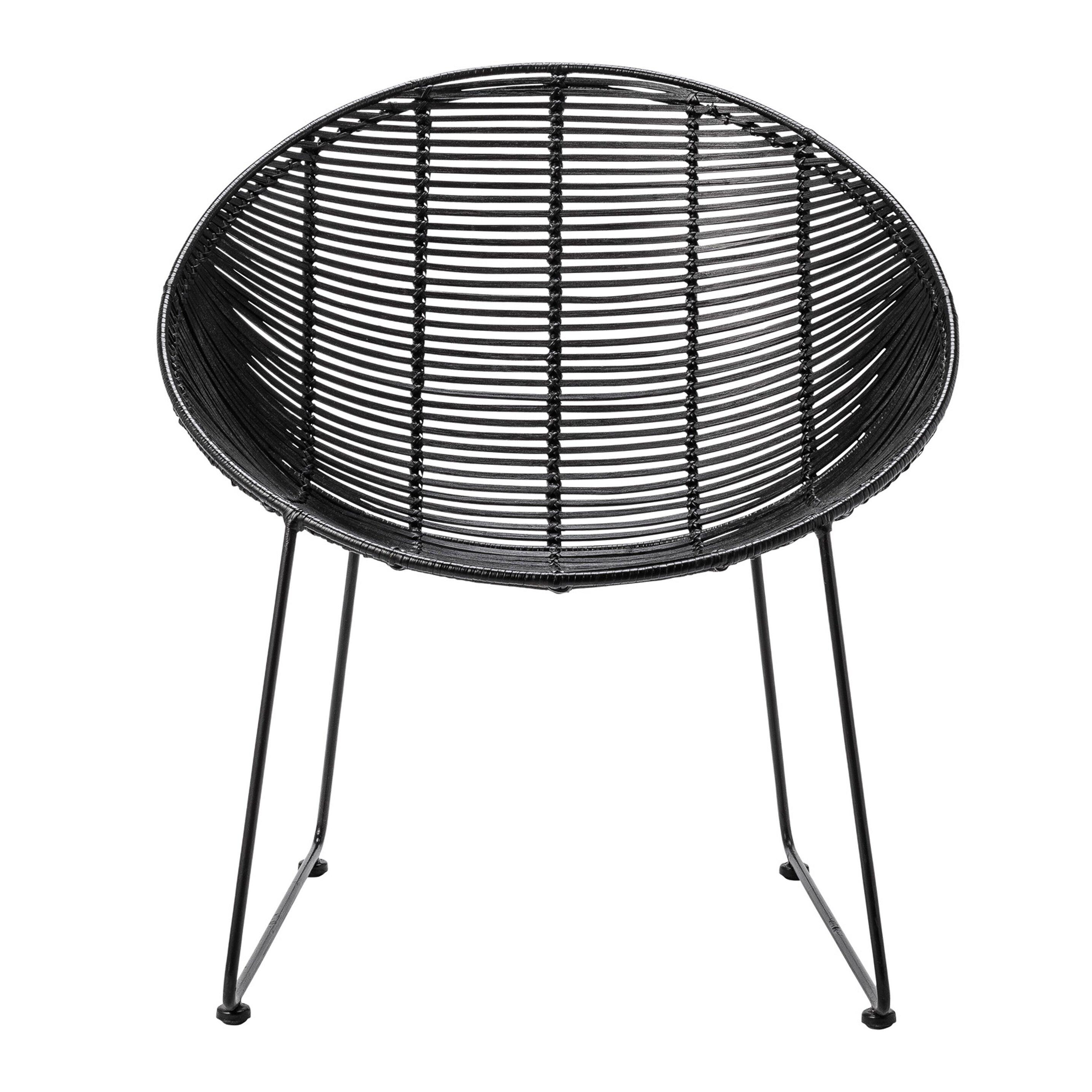 braided rattan lounge chair wayfair. Black Bedroom Furniture Sets. Home Design Ideas