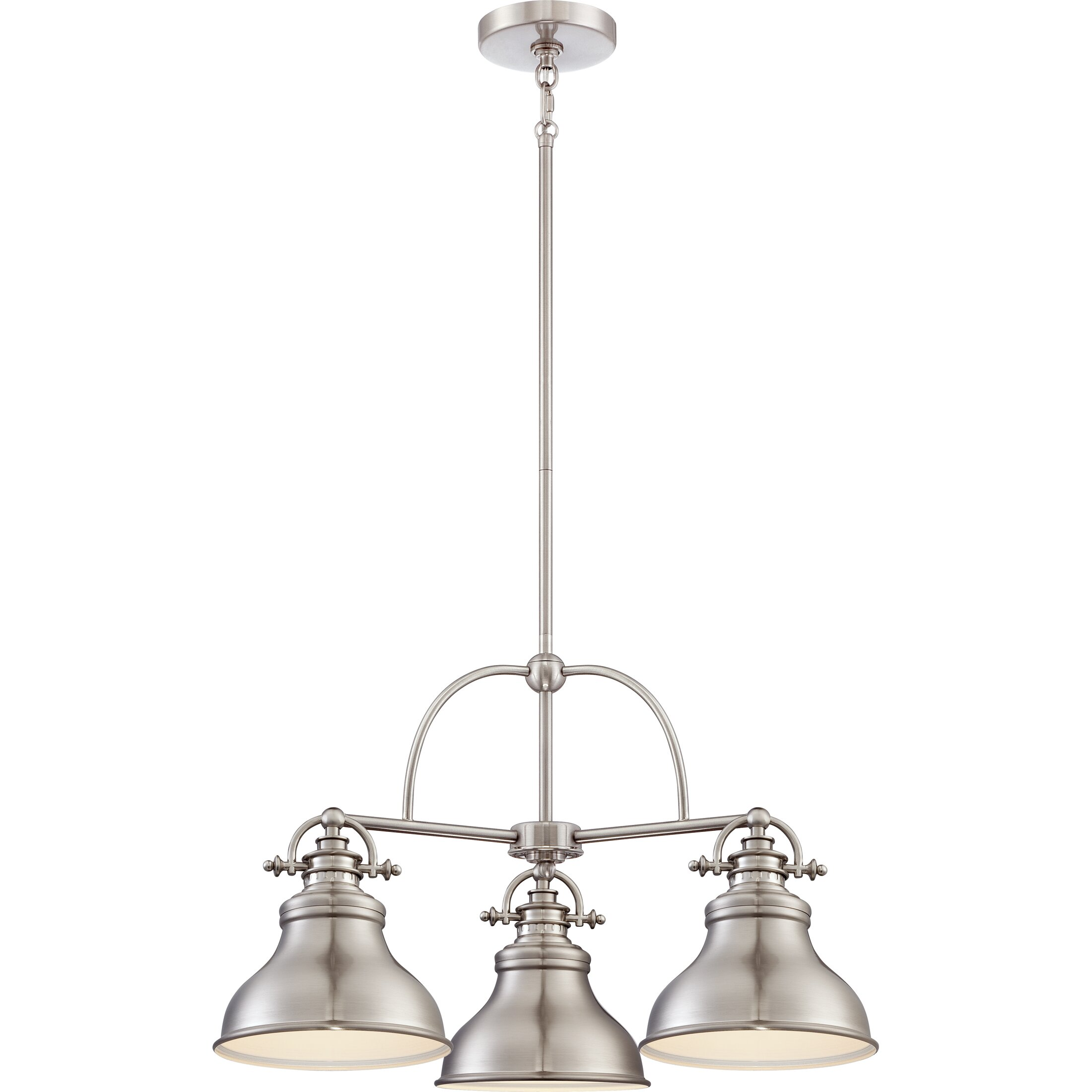 Quoizel Emery 3 Light Kitchen Island Pendant & Reviews