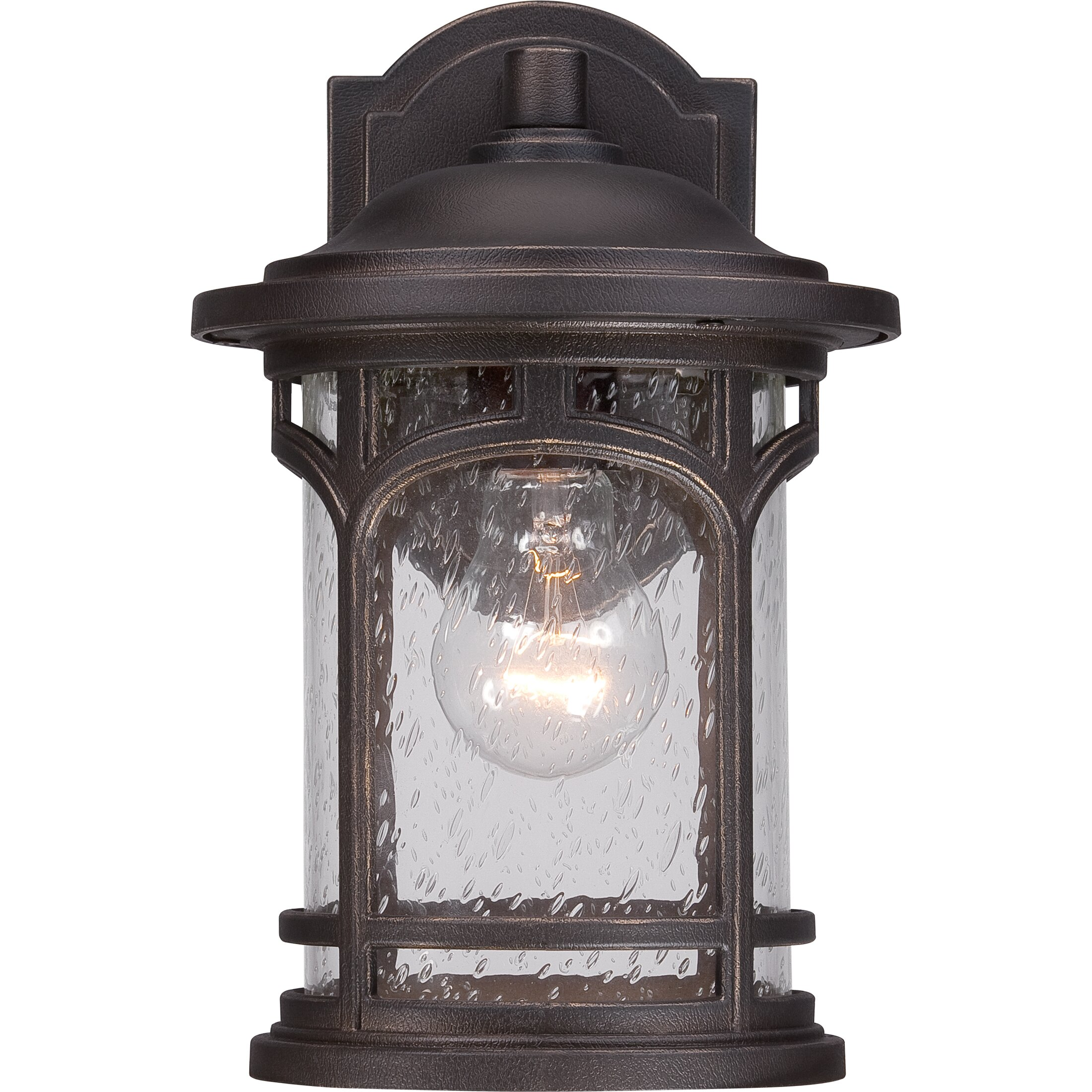Quoizel Marblehead 1 Light Wall Lantern & Reviews