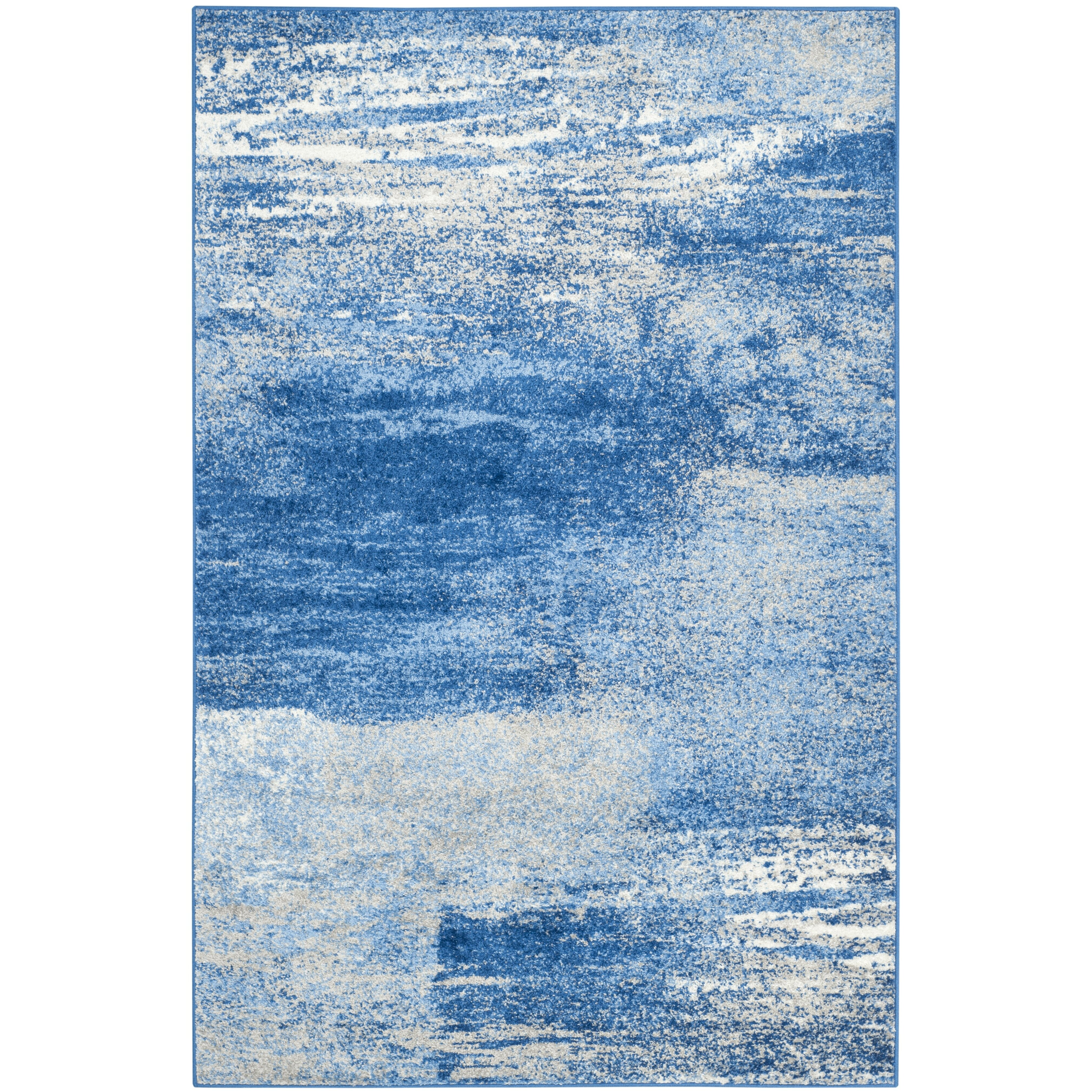 Safavieh adirondack silver blue area rug amp reviews wayfair