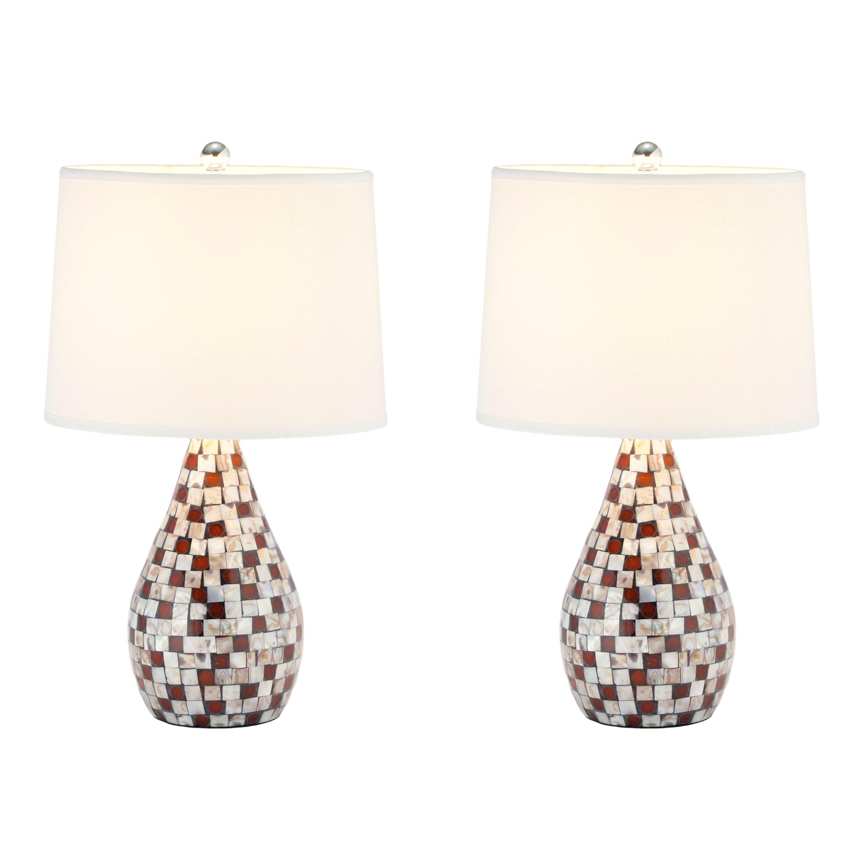 lighting lamps table lamps safavieh sku fv22293. Black Bedroom Furniture Sets. Home Design Ideas
